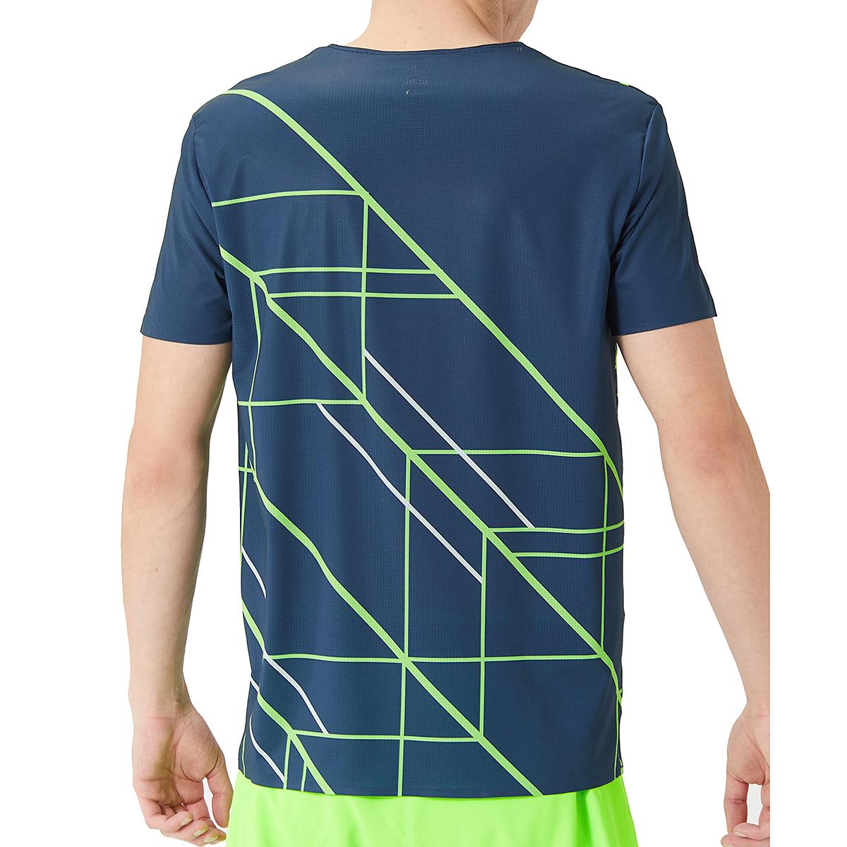 Men's Rabbit Runtee Short Sleeve - Color: Dress Blues/Green Gecko - Size: XL, Dress Blues/Green Gecko, large, image 2