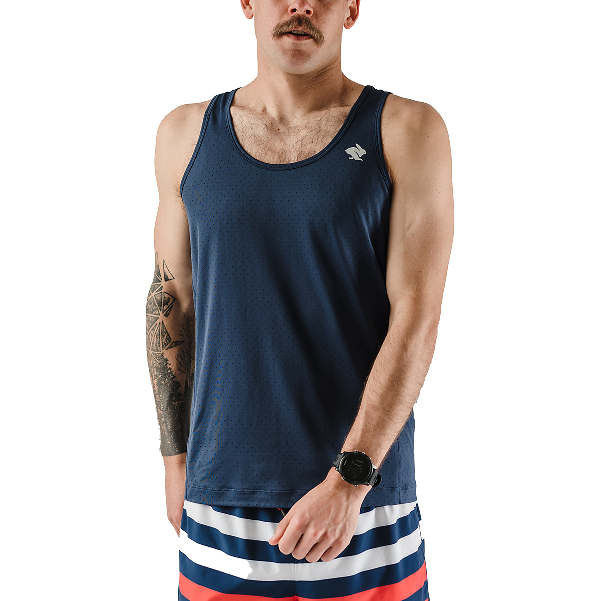 Men's Rabbit Welcome To The Gun Show Perf Tank, , large, image 1