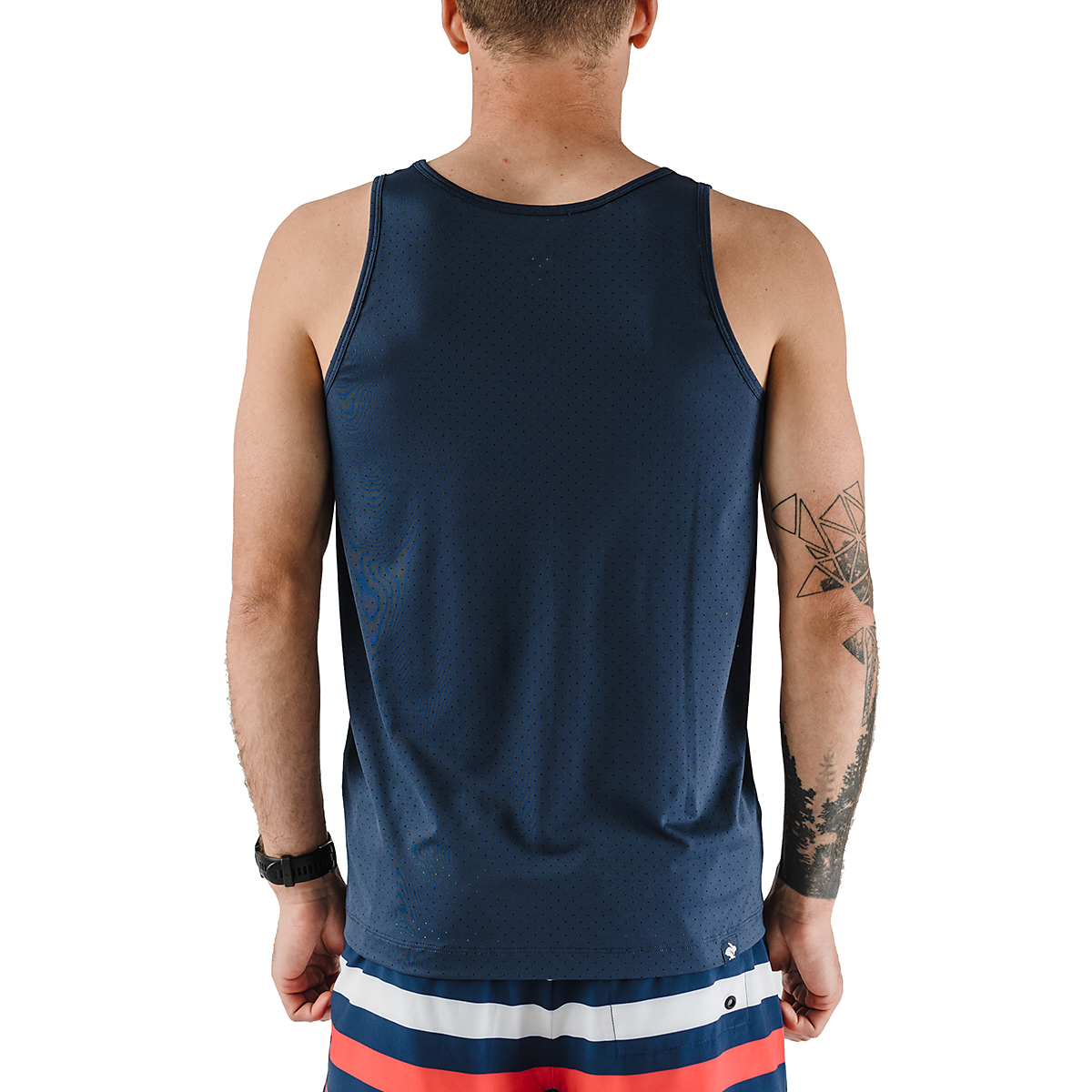 Men's Rabbit Welcome To The Gun Show Perf Tank, , large, image 2