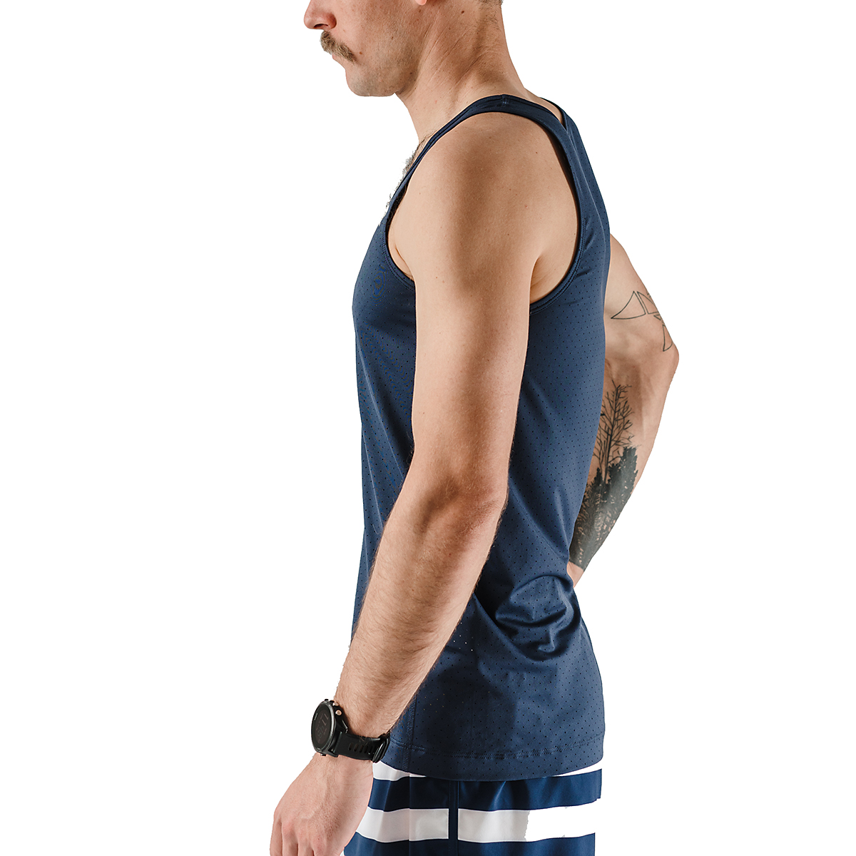 Men's Rabbit Welcome To The Gun Show Perf Tank, , large, image 3
