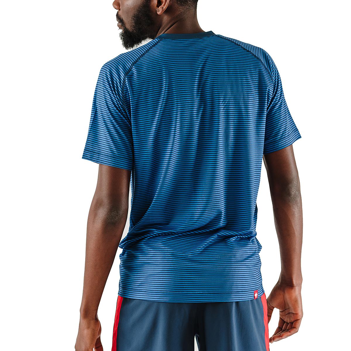 Men's Rabbit EZ Tee Short Sleeve - JackRabbit Exclusive - Color: Dress Blues/Lapis Blue - Size: S, Dress Blues/Lapis Blue, large, image 2