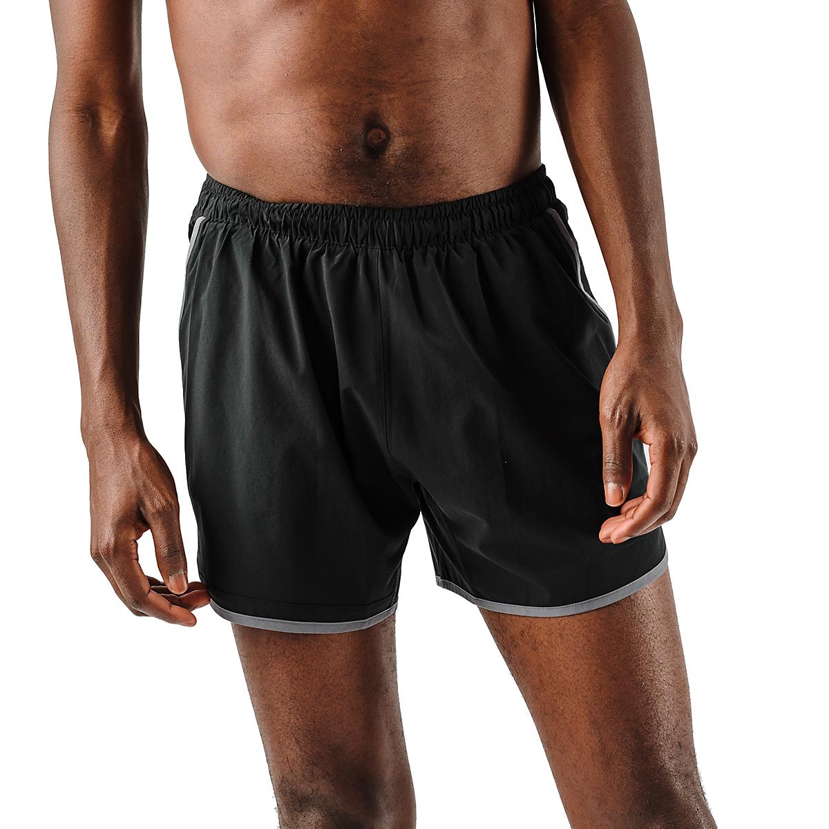 """Men's Rabbit Quadtastic 5"""" Short - Color: Black - Size: S, Black, large, image 1"""