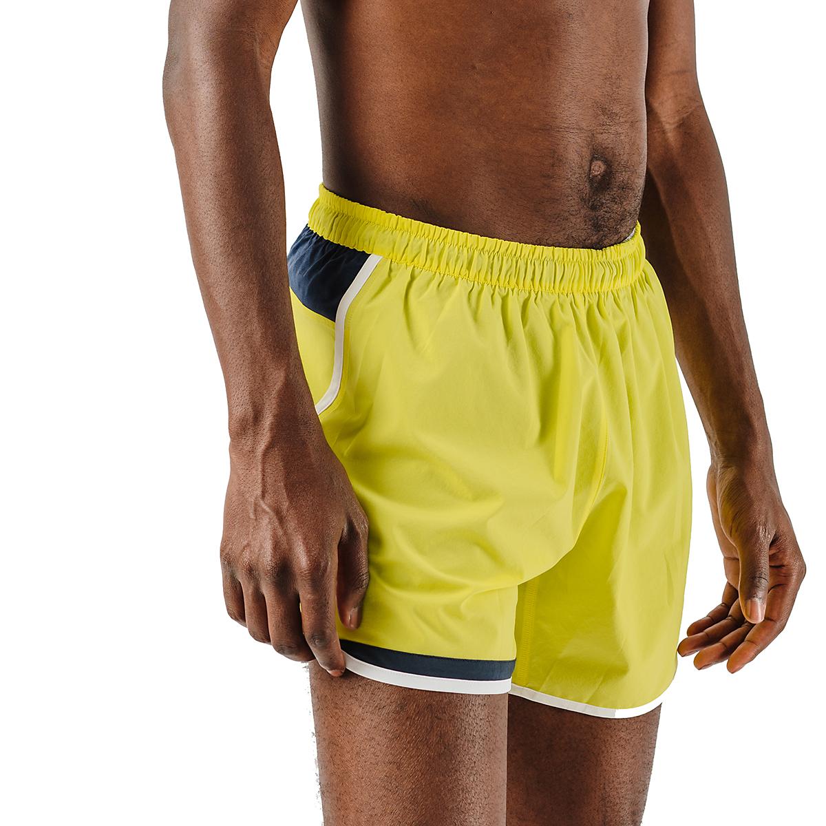 """Men's Rabbit Quadtastic 5"""" Short - Color: Lemon Tonic - Size: S, Lemon Tonic, large, image 3"""