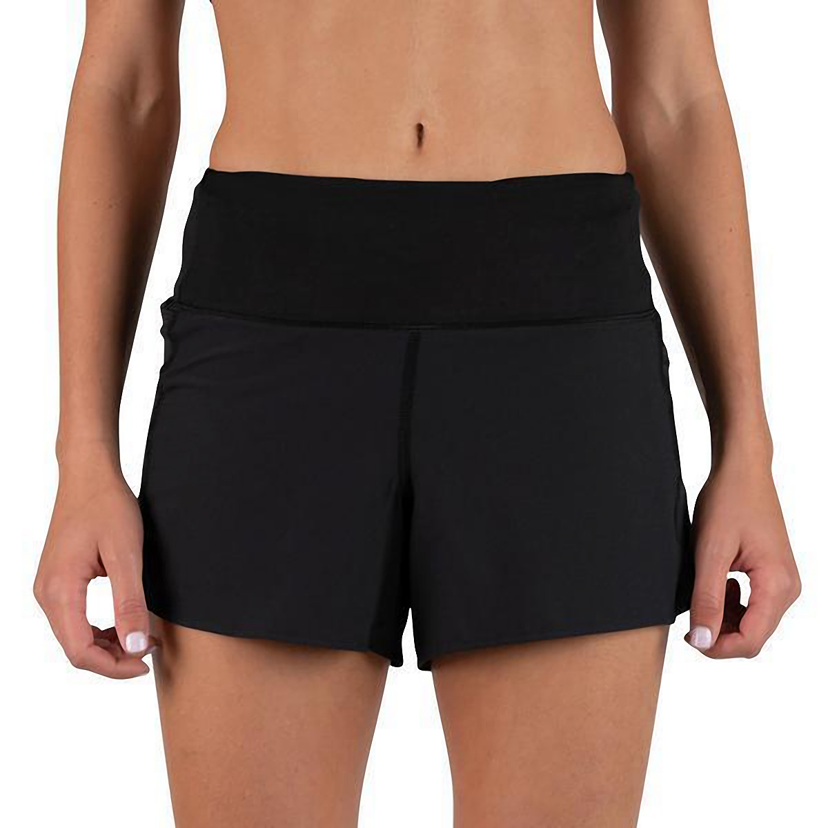 "Women's Rabbit Dirt Pounders 2.0 4"" Short - Color: Black - Size: XS, Black, large, image 1"