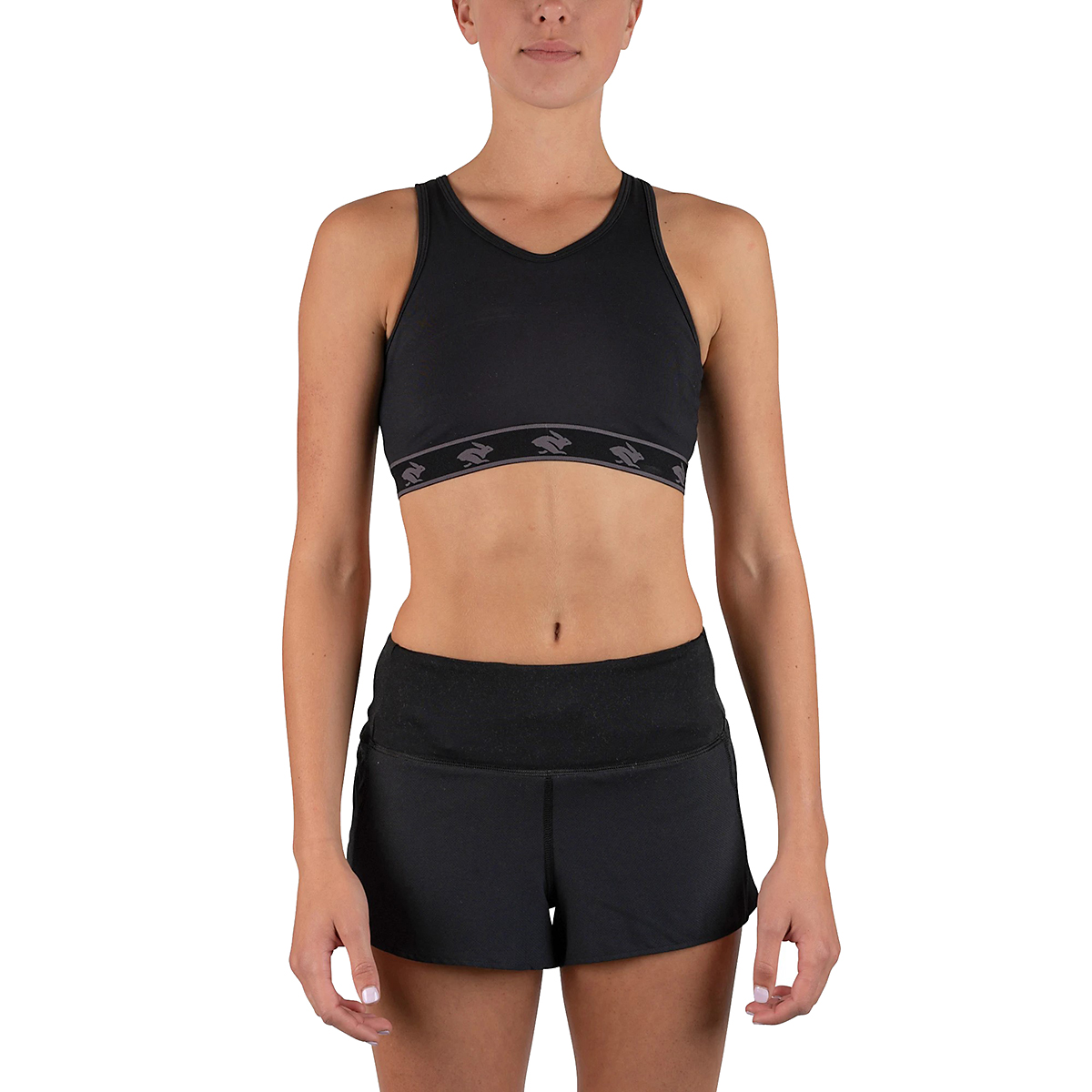 Women's Rabbit UtiliBRA-vo Sports Bra - Color: Black - Size: XS, Black, large, image 1