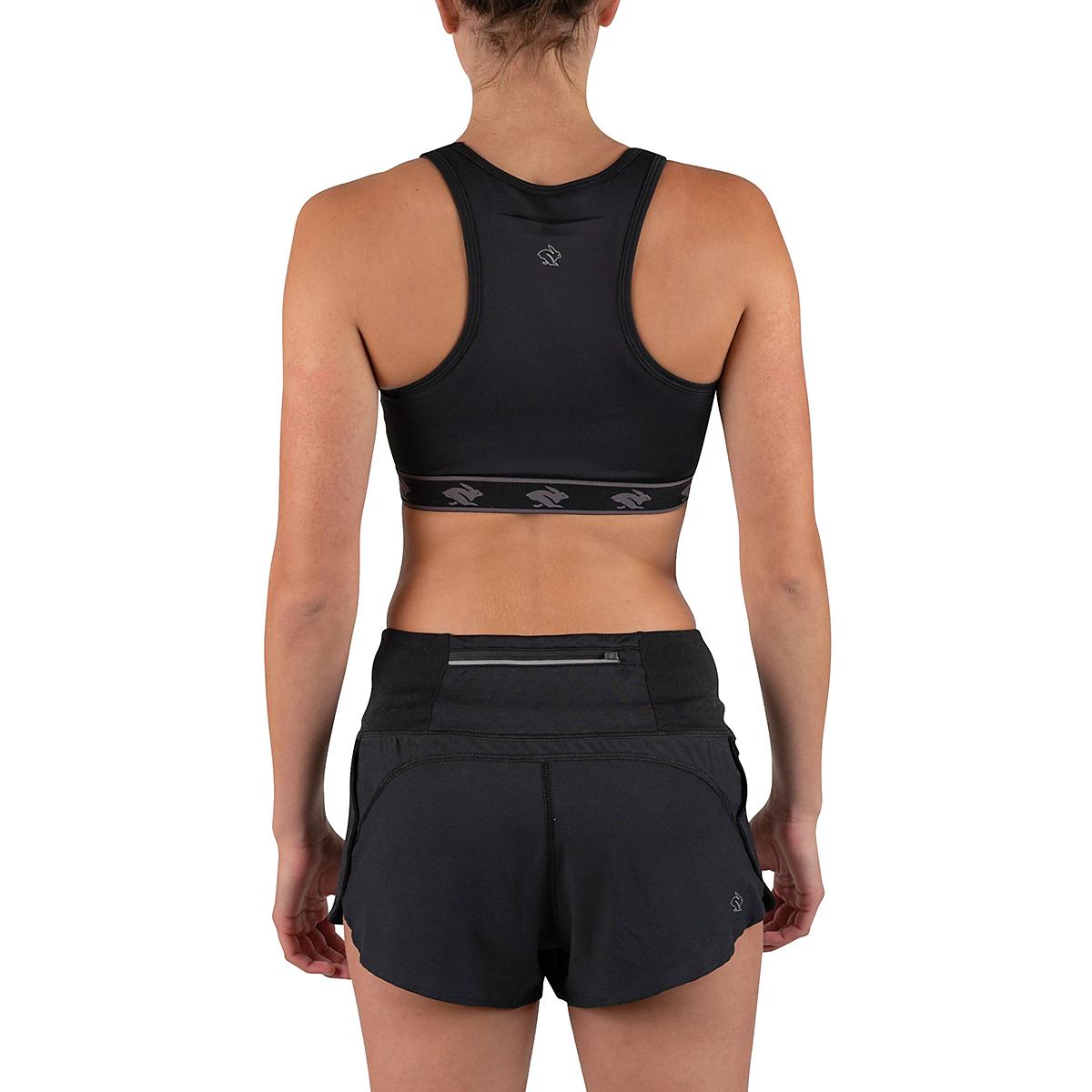 Women's Rabbit UtiliBRA-vo Sports Bra - Color: Black - Size: XS, Black, large, image 2