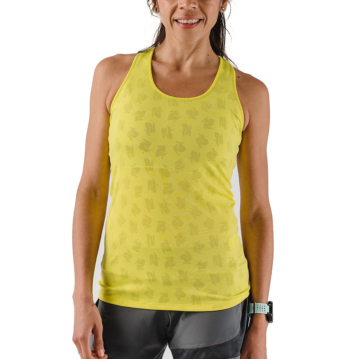 Women's Rabbit Bunny Hop Support & Pocket Tank - Color: Lemon Tonic - Size: XS, Lemon Tonic, large, image 1
