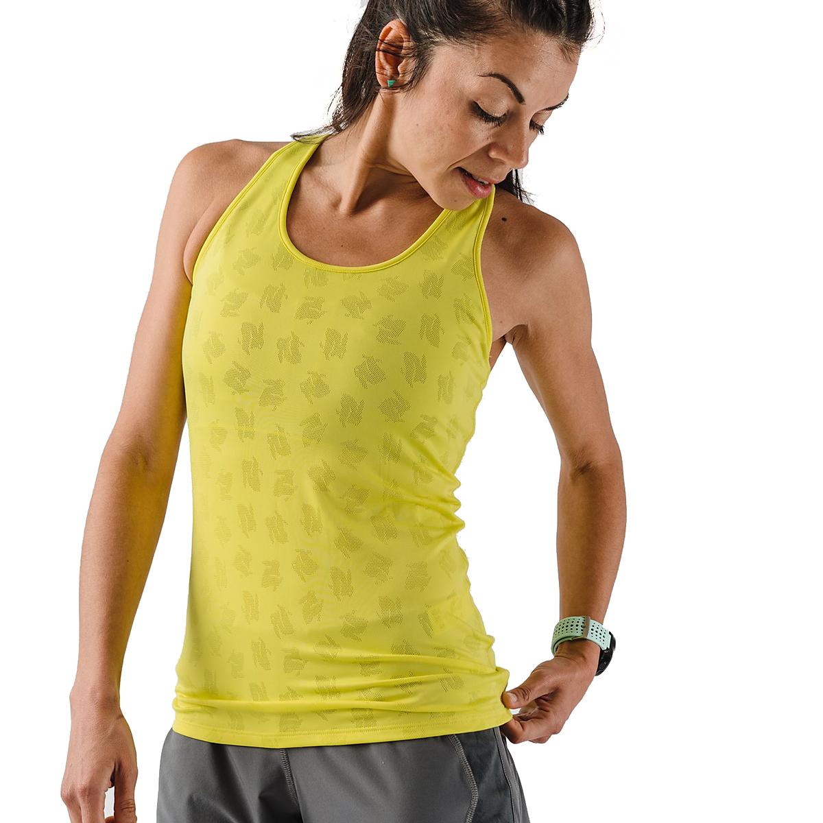 Women's Rabbit Bunny Hop Support & Pocket Tank - Color: Lemon Tonic - Size: XS, Lemon Tonic, large, image 3