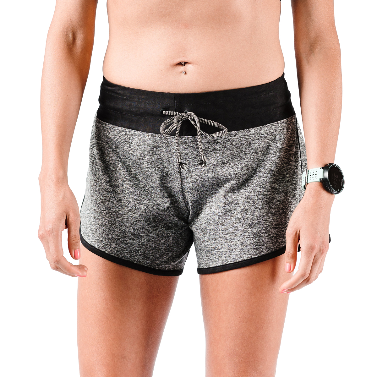"Women's Rabbit EZ 4"" Short - Color: Charcoal - Size: XS, Charcoal, large, image 2"