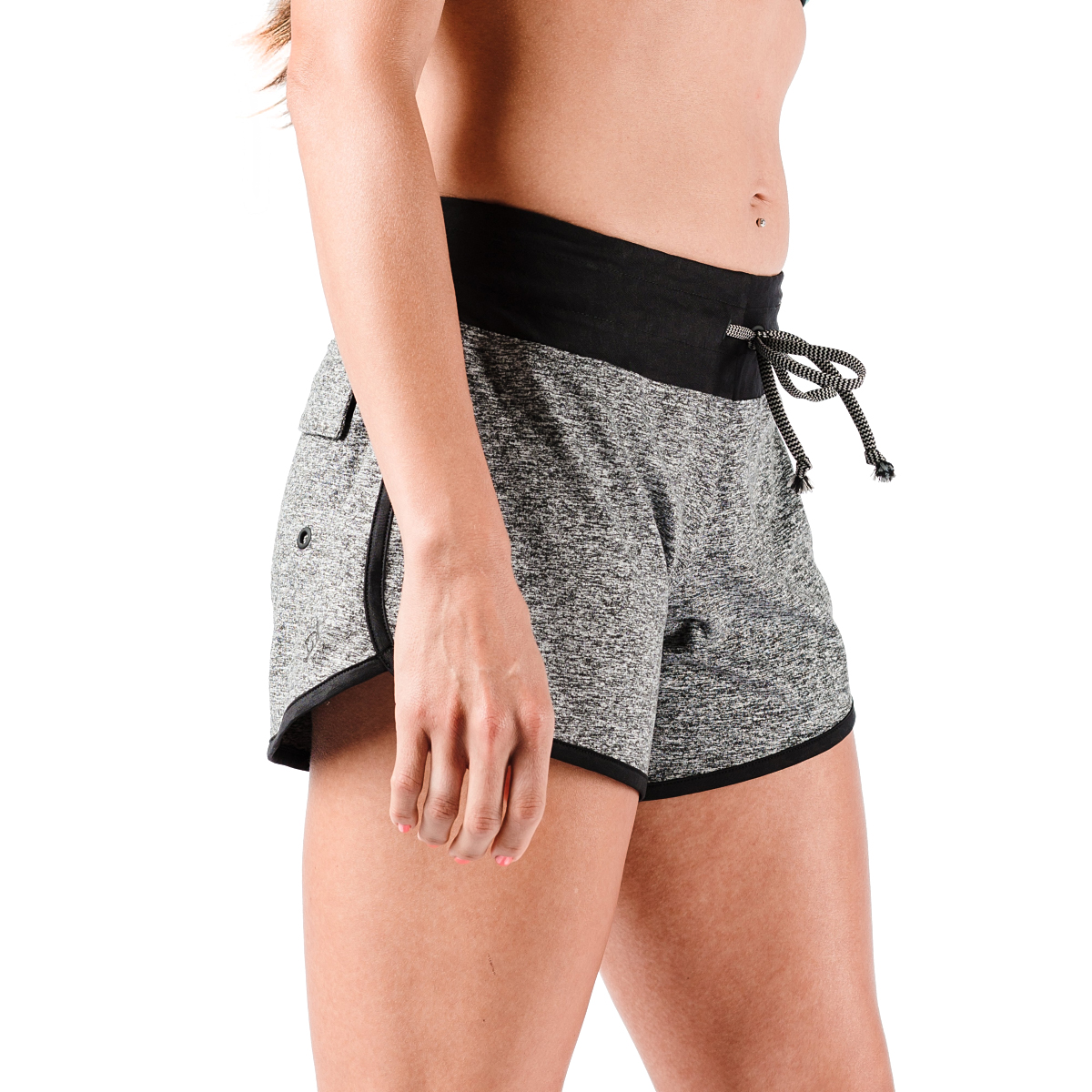 "Women's Rabbit EZ 4"" Short - Color: Charcoal - Size: XS, Charcoal, large, image 3"
