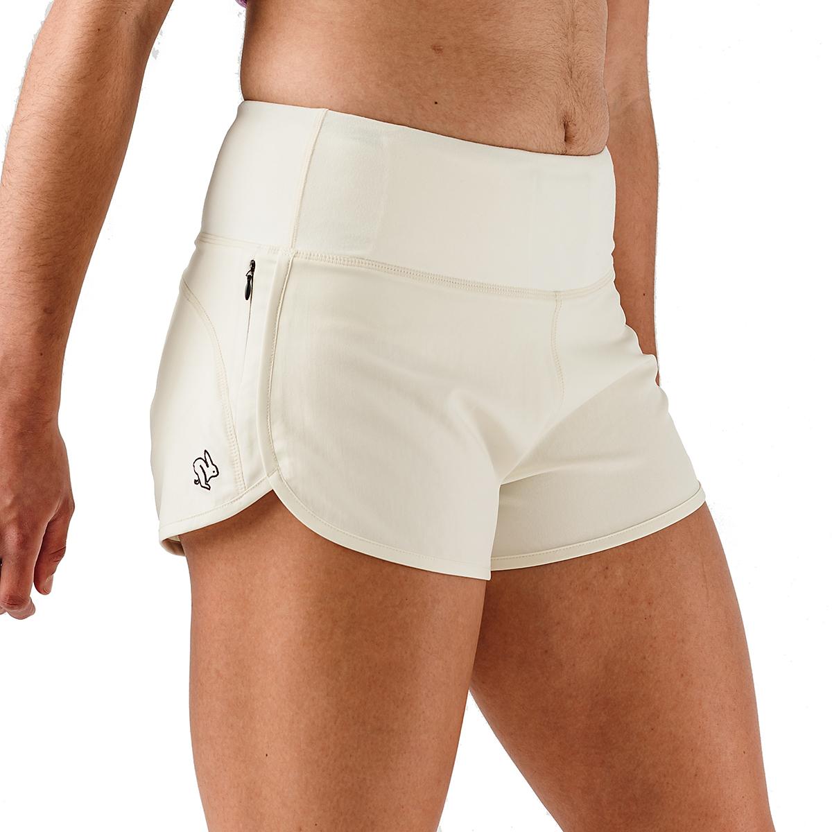 "Women's Rabbit Pocket Shorts 2.5"" - Color: Vanilla Ice - Size: XS, Vanilla Ice, large, image 3"
