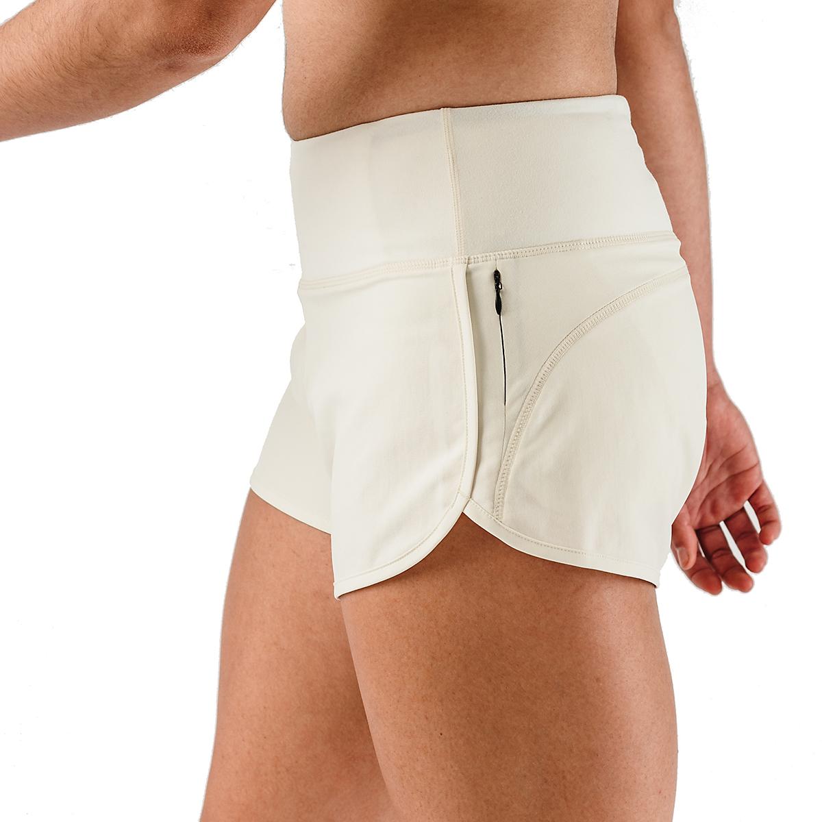 "Women's Rabbit Pocket Shorts 2.5"" - Color: Vanilla Ice - Size: XS, Vanilla Ice, large, image 4"