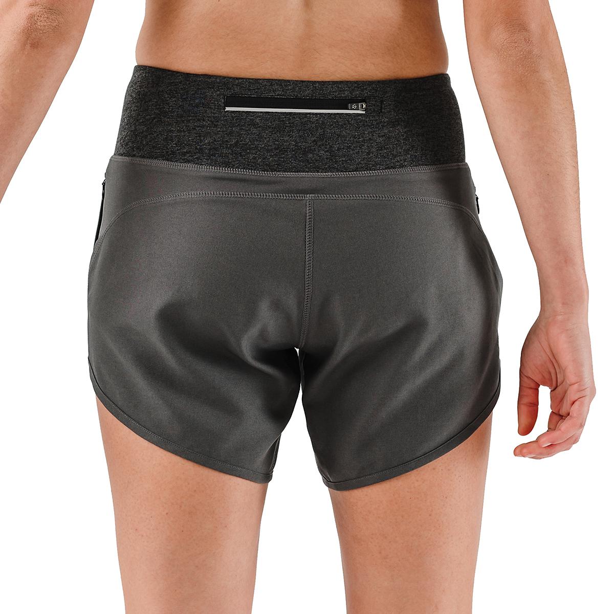 "Women's Rabbit Pocket 6"" Shorts - Color: Charcoal - Size: XS, Charcoal, large, image 4"