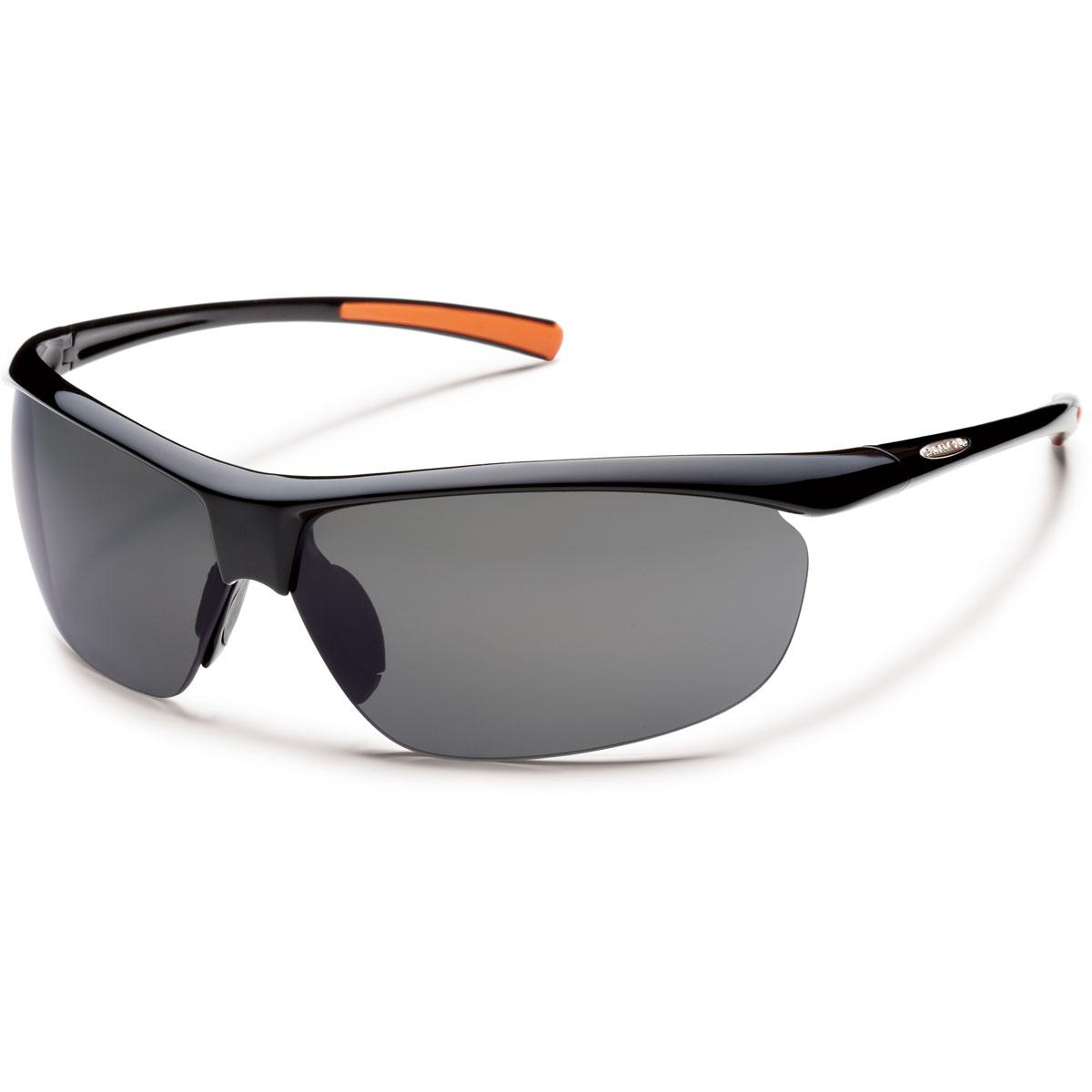 Suncloud Zephyr Polarized Sunglasses - Color: Black - Grey Lens, Black - Grey Lens, large, image 1