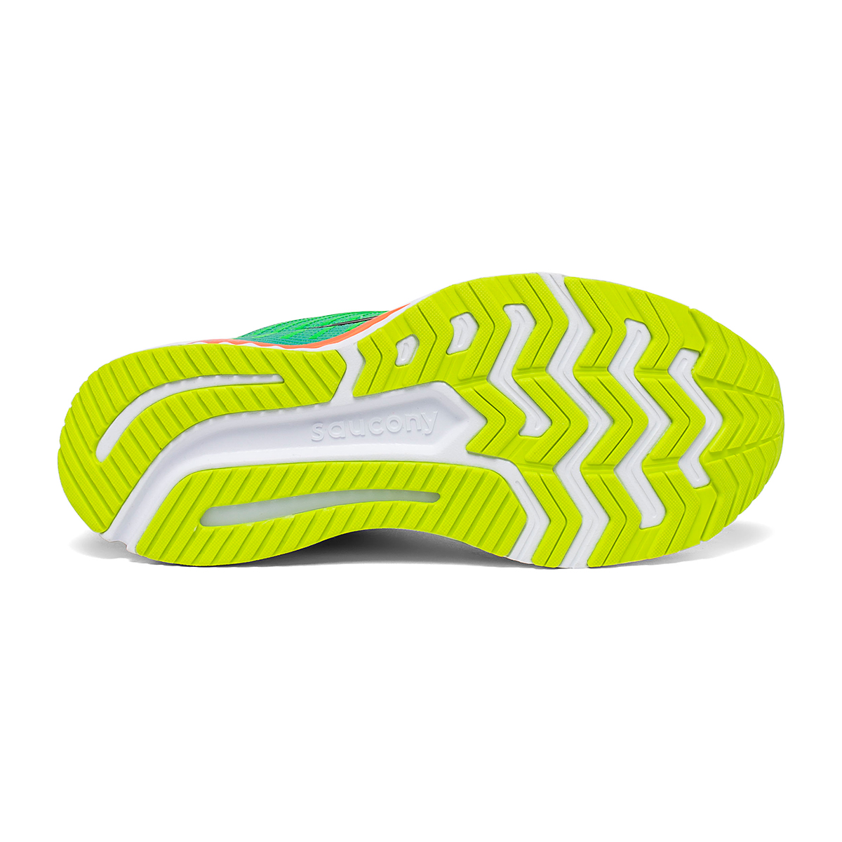 Women's Saucony Guide 13 Running Shoe - Color: Green Mutant - Size: 5 - Width: Regular, Green Mutant, large, image 4
