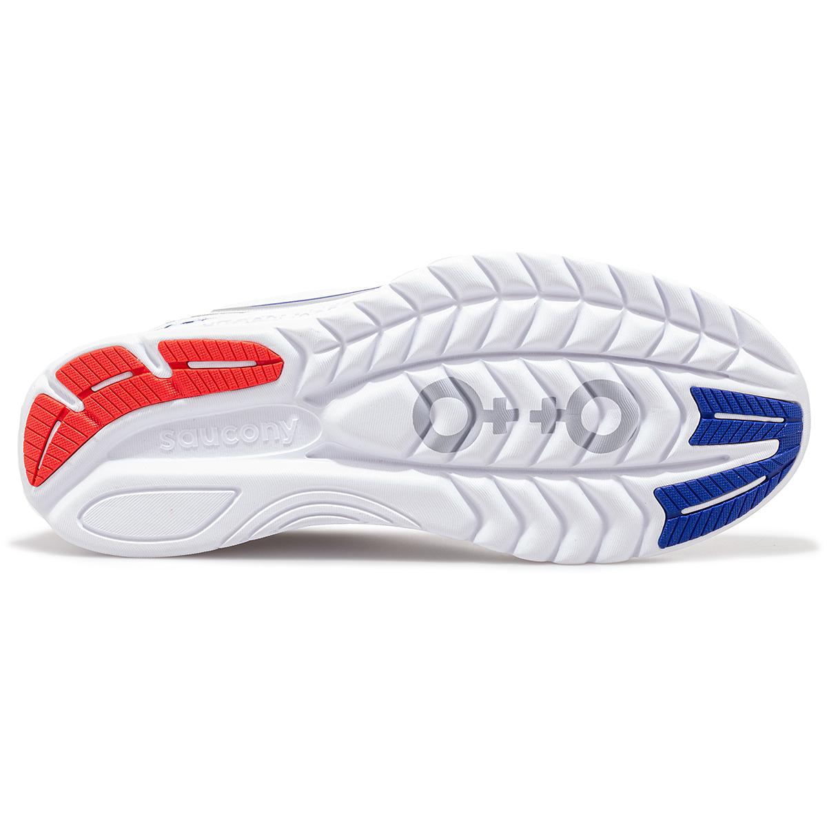 Women's Saucony x Prinkshop Hero Kinvara 11 Running Shoe - Color: Red/White/Blue - Size: 5 - Width: Regular, Red/White/Blue, large, image 4