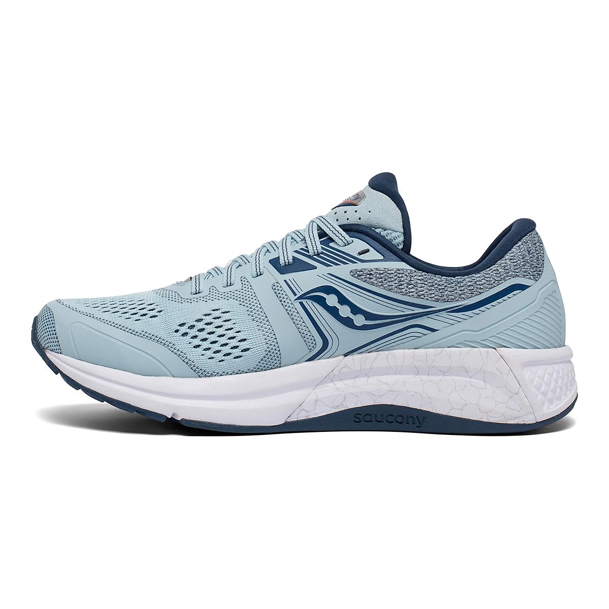 Women's Saucony Omni 19 Running Shoe - Color: Sky/Storm - Size: 5 - Width: Regular, Sky/Storm, large, image 2