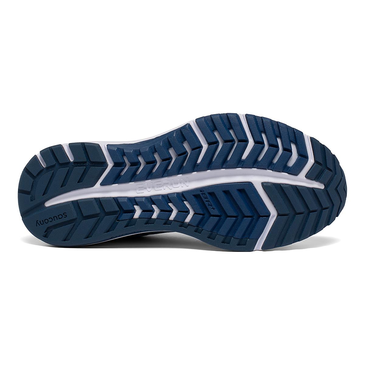 Women's Saucony Omni 19 Running Shoe - Color: Sky/Storm - Size: 5 - Width: Regular, Sky/Storm, large, image 5