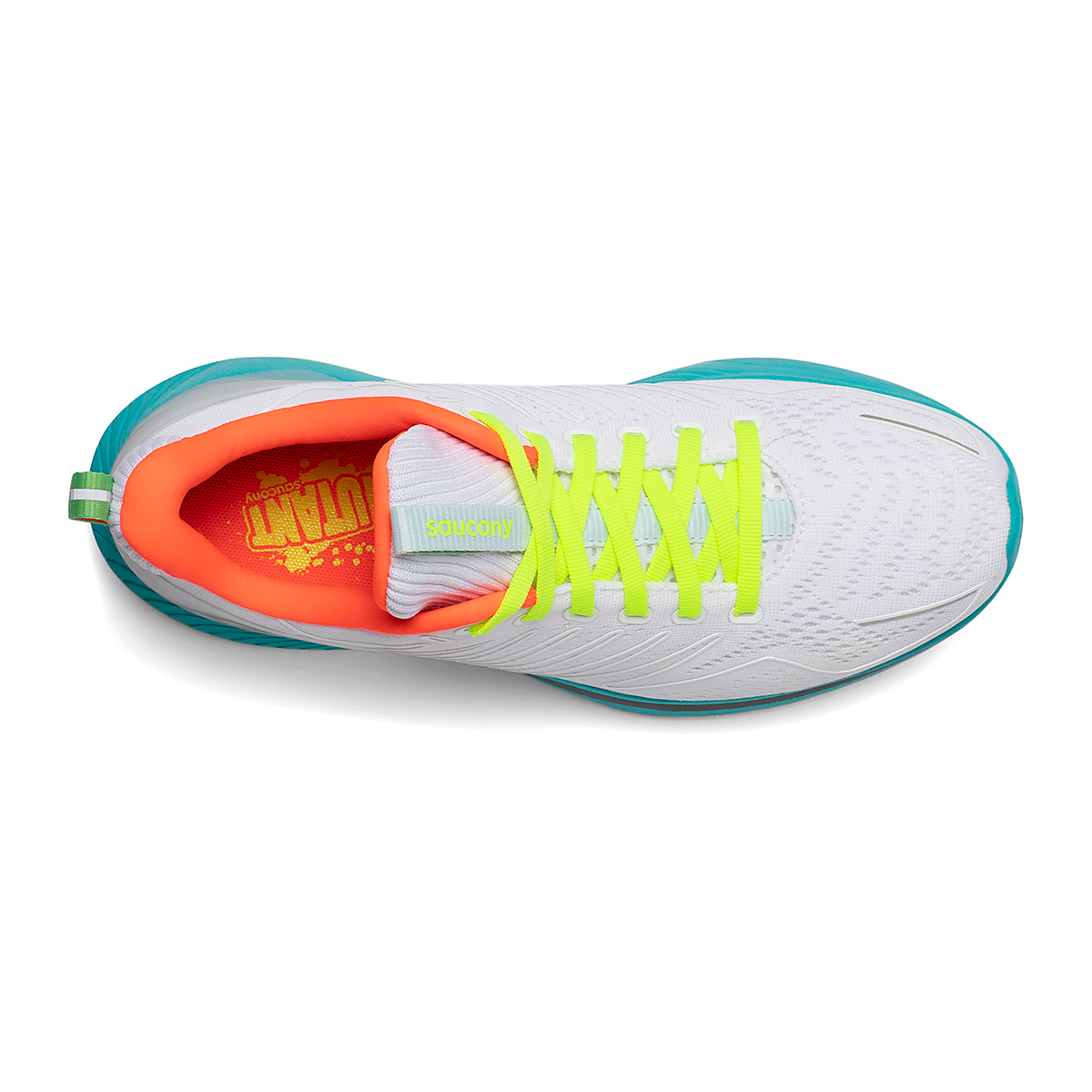 Women's Saucony Endorphin Shift Running Shoe - Color: White Mutant - Size: 5 - Width: Regular, White Mutant, large, image 3