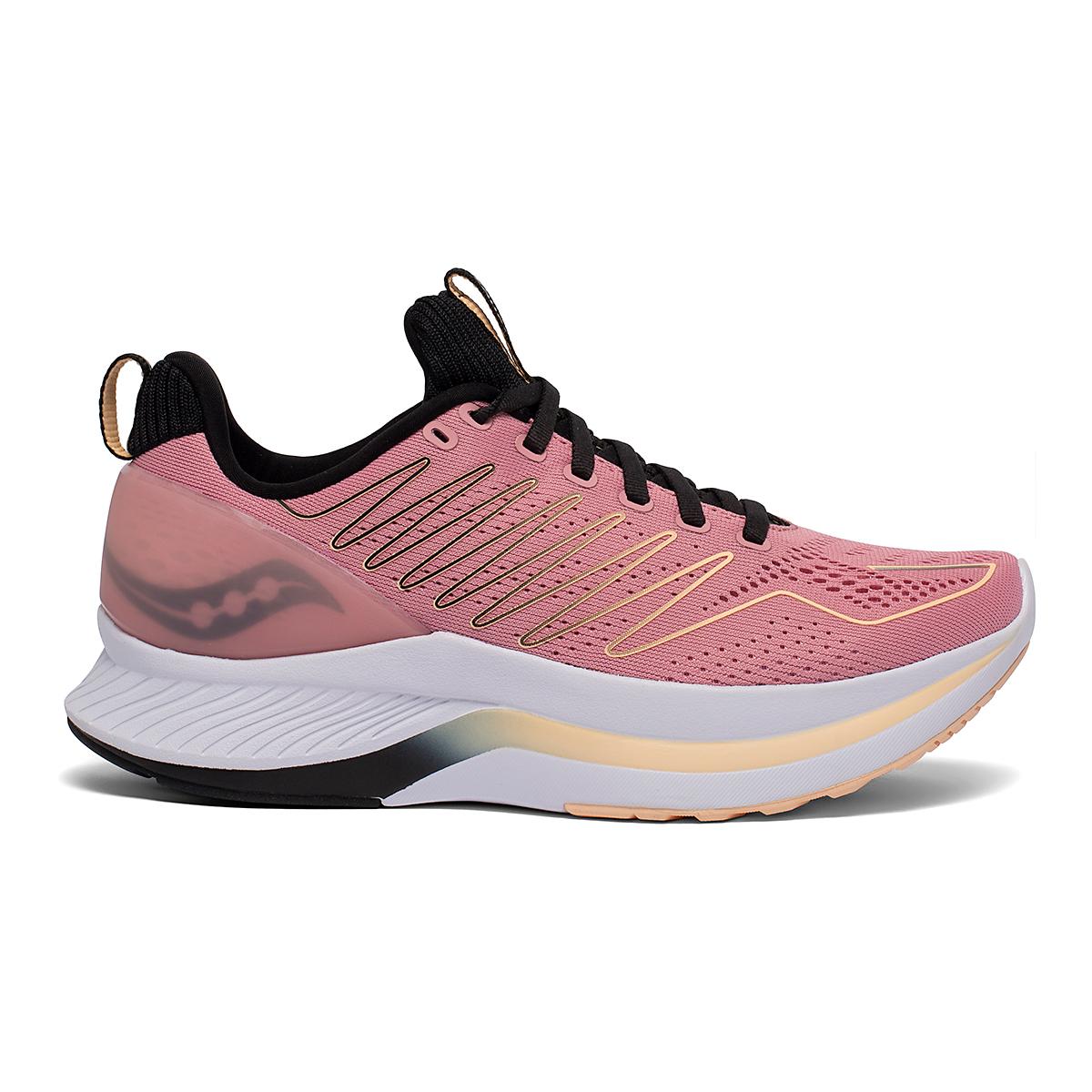 Women's Saucony Endorphin Shift Running Shoe - Color: Rosewater/Black - Size: 5 - Width: Regular, Rosewater/Black, large, image 1