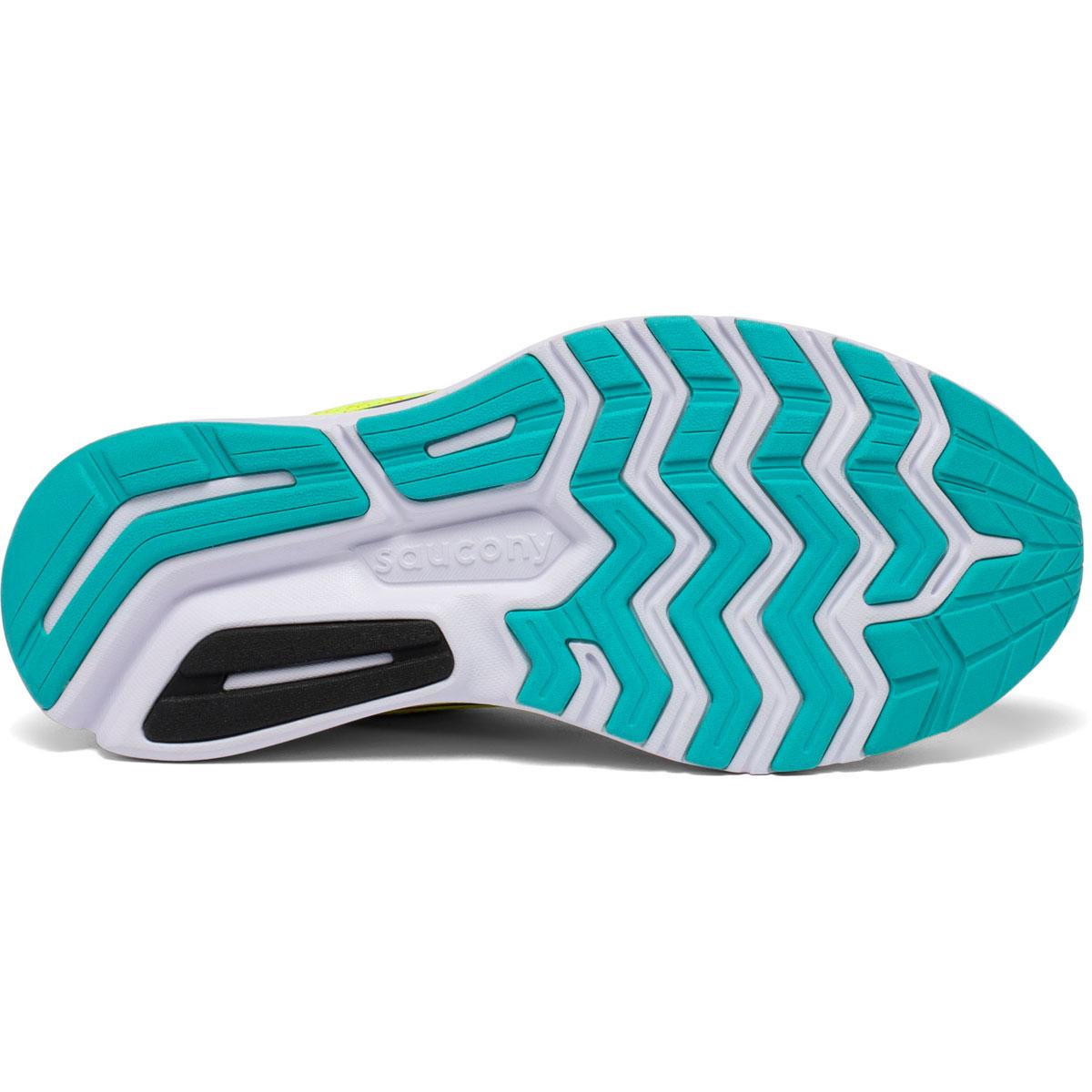 Women's Saucony Ride 13 Running Shoe - Color: Citron Mutant - Size: 5 - Width: Regular, Citron Mutant, large, image 4