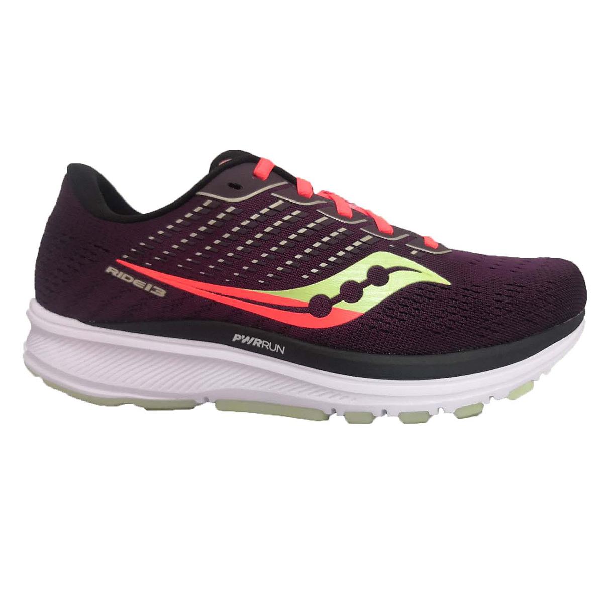 Women's Saucony Ride 13 Jackalope 2.0 Running Shoe - Color: Jackalope - Size: 7 - Width: Regular, Jackalope, large, image 1
