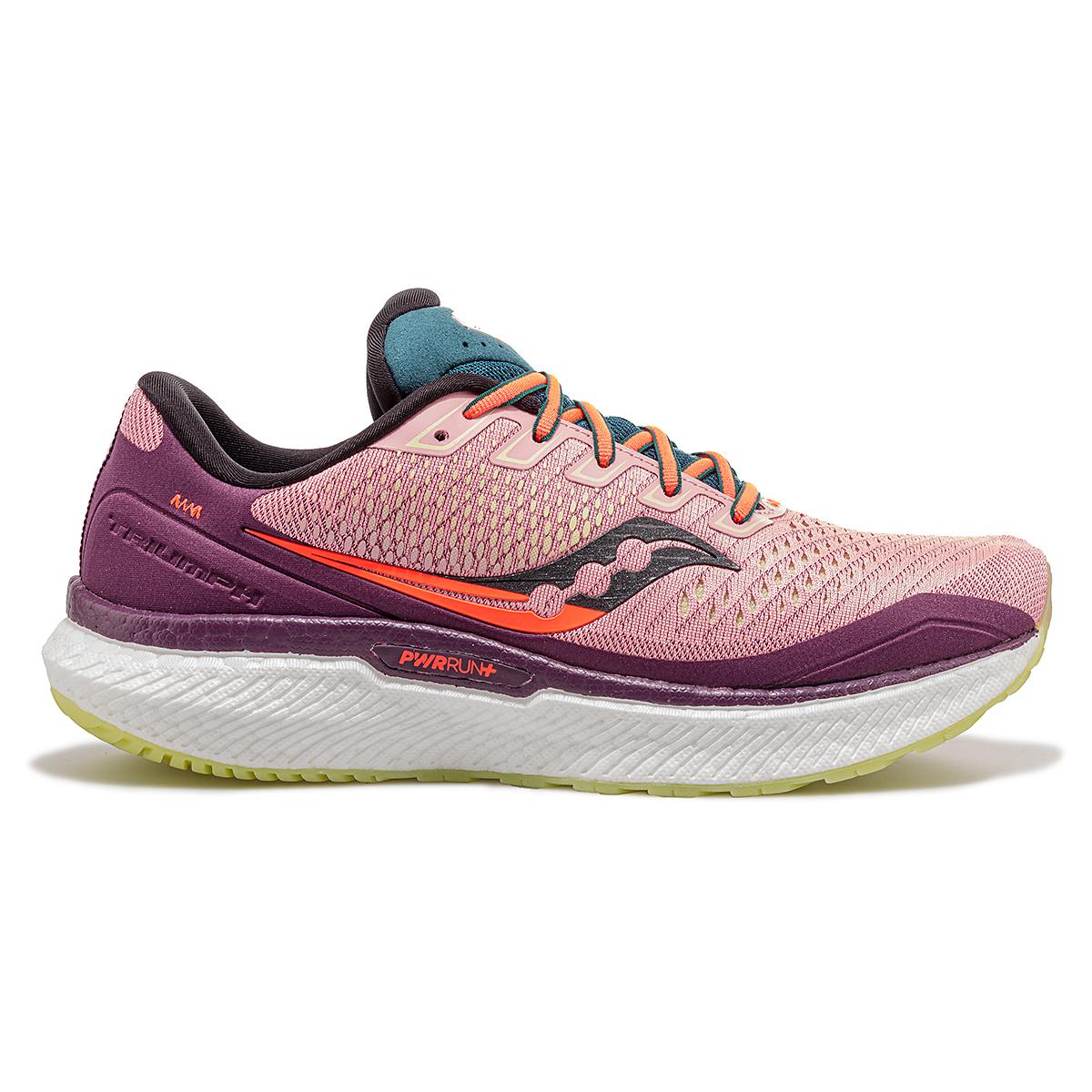 Women's Saucony Jackalope 2.0 Triumph 18 Running Shoe - Color: Jackalope - Size: 5 - Width: Regular, Jackalope, large, image 1