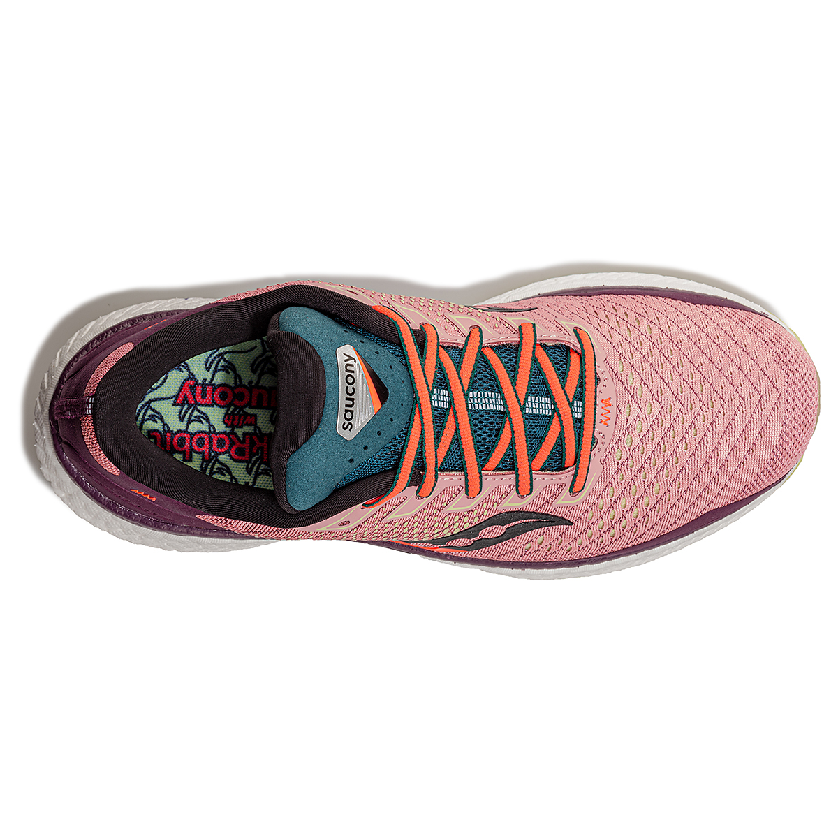 Women's Saucony Jackalope 2.0 Triumph 18 Running Shoe - Color: Jackalope - Size: 5 - Width: Regular, Jackalope, large, image 2