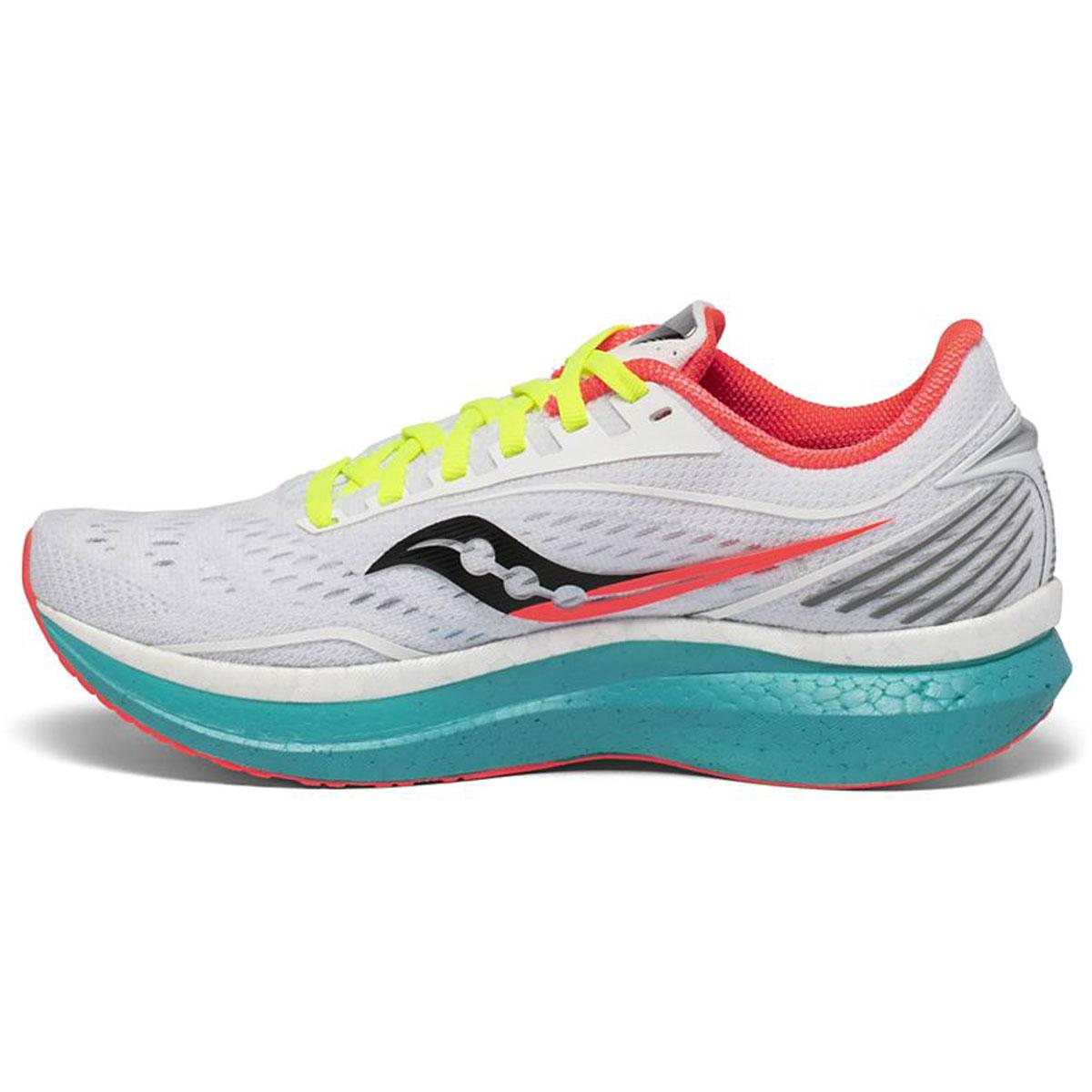Women's Saucony Endorphin Speed Running Shoe - Color: Moonrock/Mutant - Size: 5 - Width: Regular, Moonrock/Mutant, large, image 2