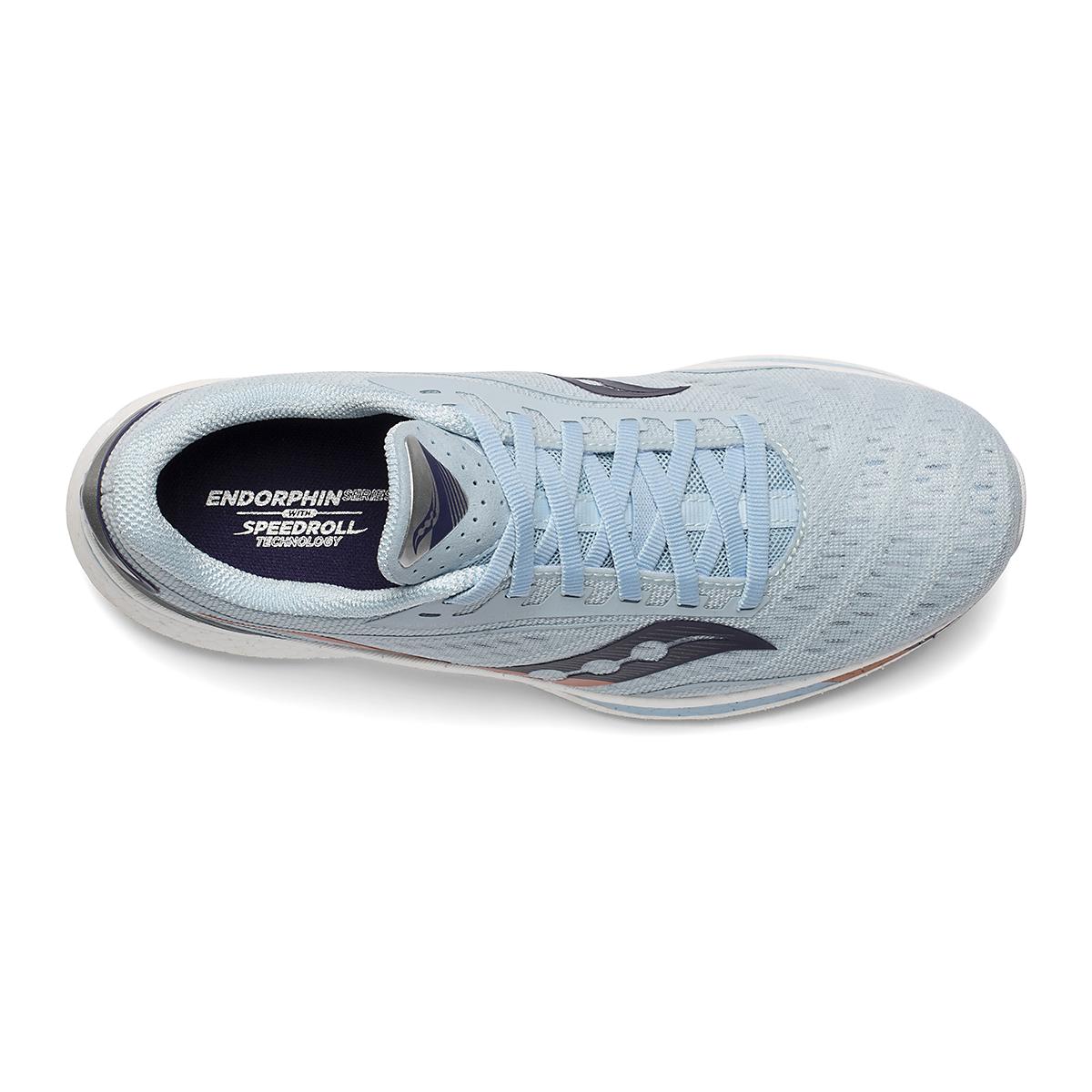 Women's Saucony Endorphin Speed Running Shoe - Color: Sky/Midnight - Size: 8.5 - Width: Regular, Sky/Midnight, large, image 3