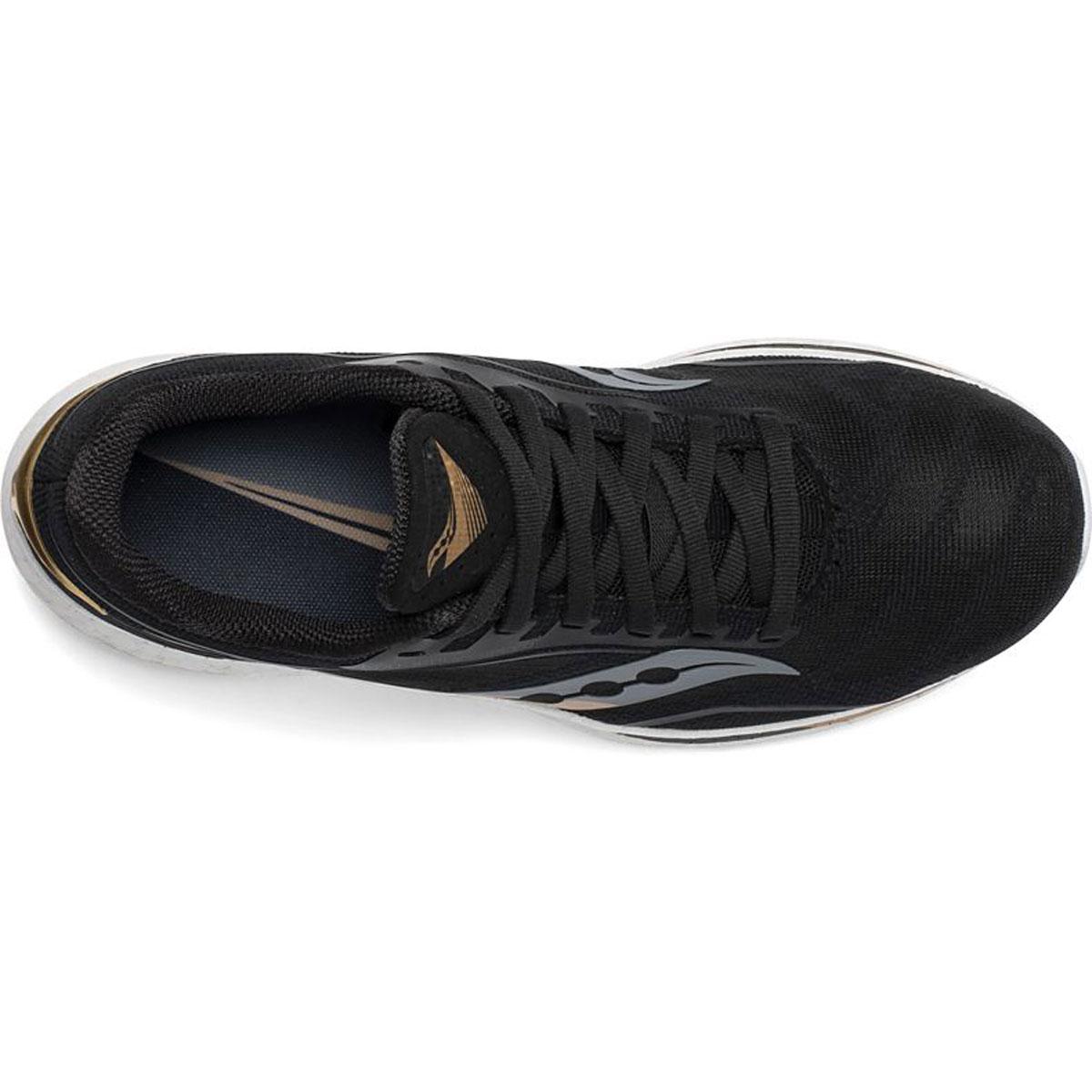 Women's Saucony Endorphin Speed Running Shoe - Color: Black/Gold - Size: 5 - Width: Regular, Black/Gold, large, image 3