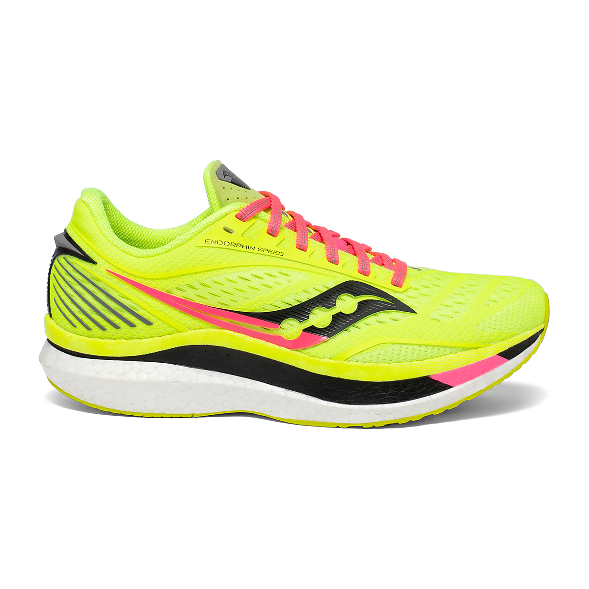 Women's Saucony VIZIPRO Speed Endorphin Speed Running Shoe - Color: Citron - Size: 5 - Width: Regular, Citron, large, image 1