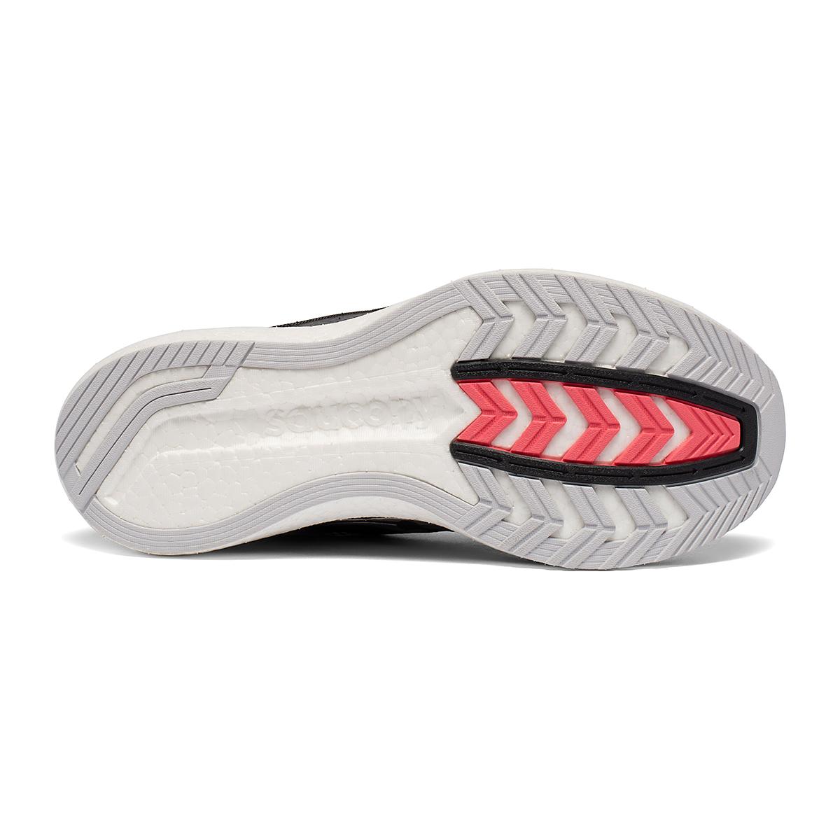Women's Saucony Endorphin Pro Running Shoe - Color: Black/Silver - Size: 5 - Width: Regular, Black/Silver, large, image 5