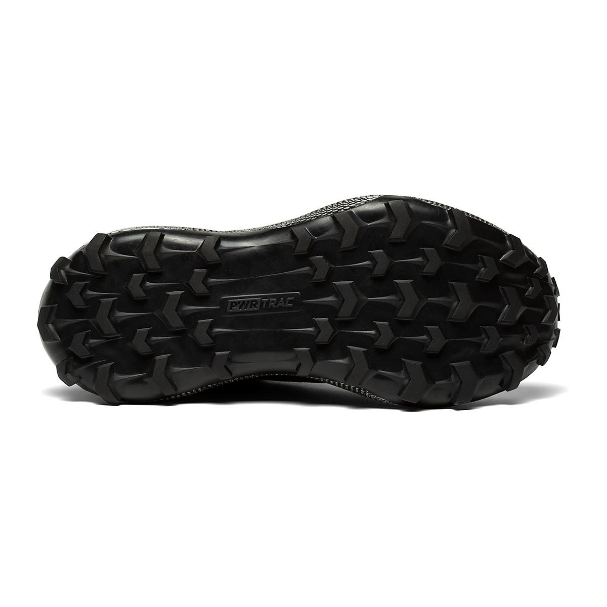 Women's Saucony Endorphin Trail Running Shoe - Color: Black/Gravel - Size: 5.5 - Width: Regular, Black/Gravel, large, image 4