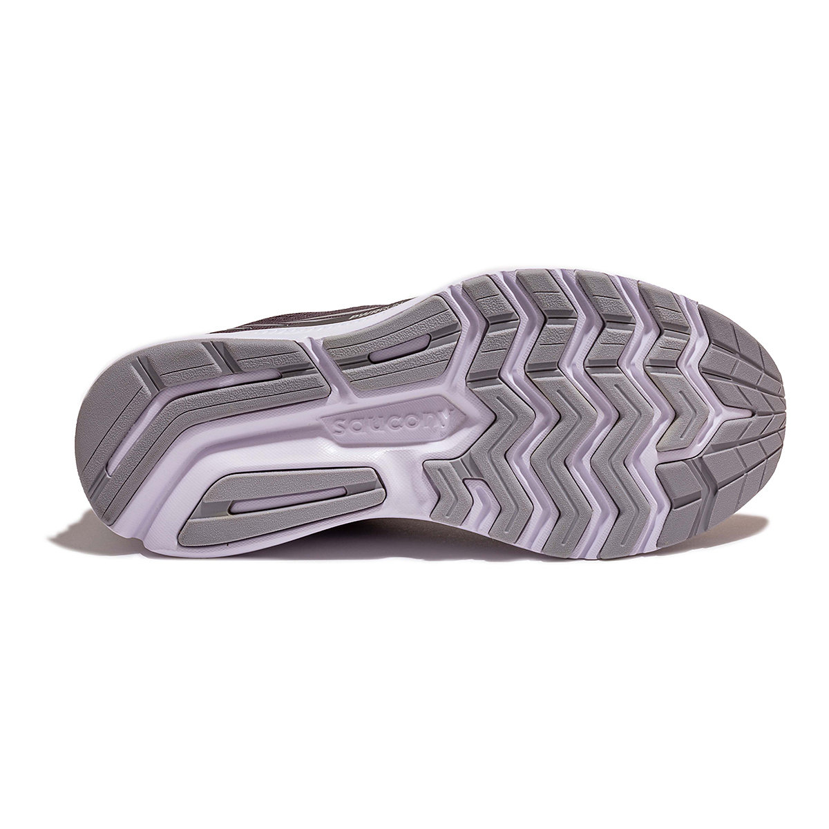 Women's Saucony Ride 14 Running Shoe - Color: Charcoal/Black - Size: 5 - Width: Wide, Charcoal/Black, large, image 4