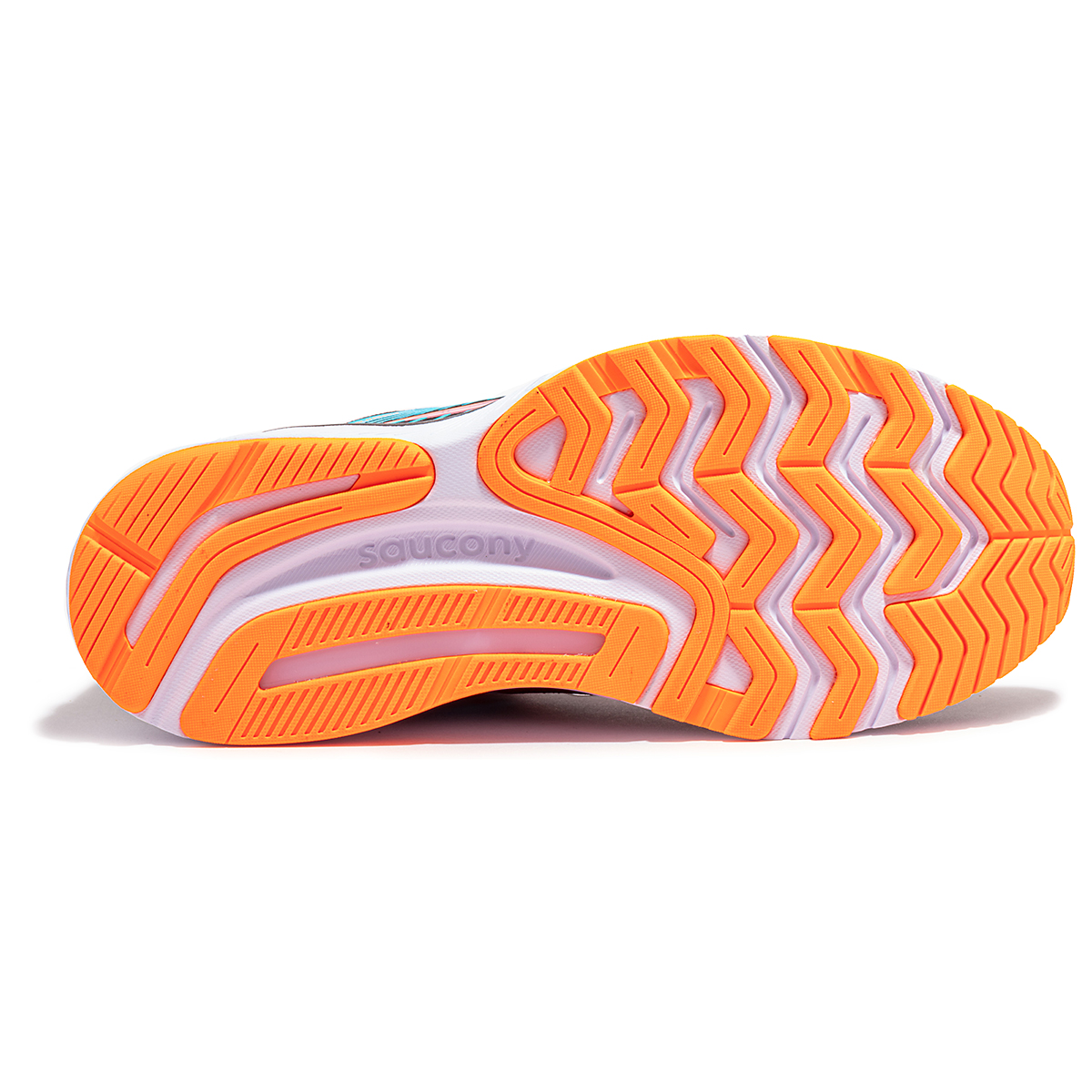Women's Saucony Guide 14 Running Shoe - Color: Future/Black - Size: 5 - Width: Regular, Future/Black, large, image 5