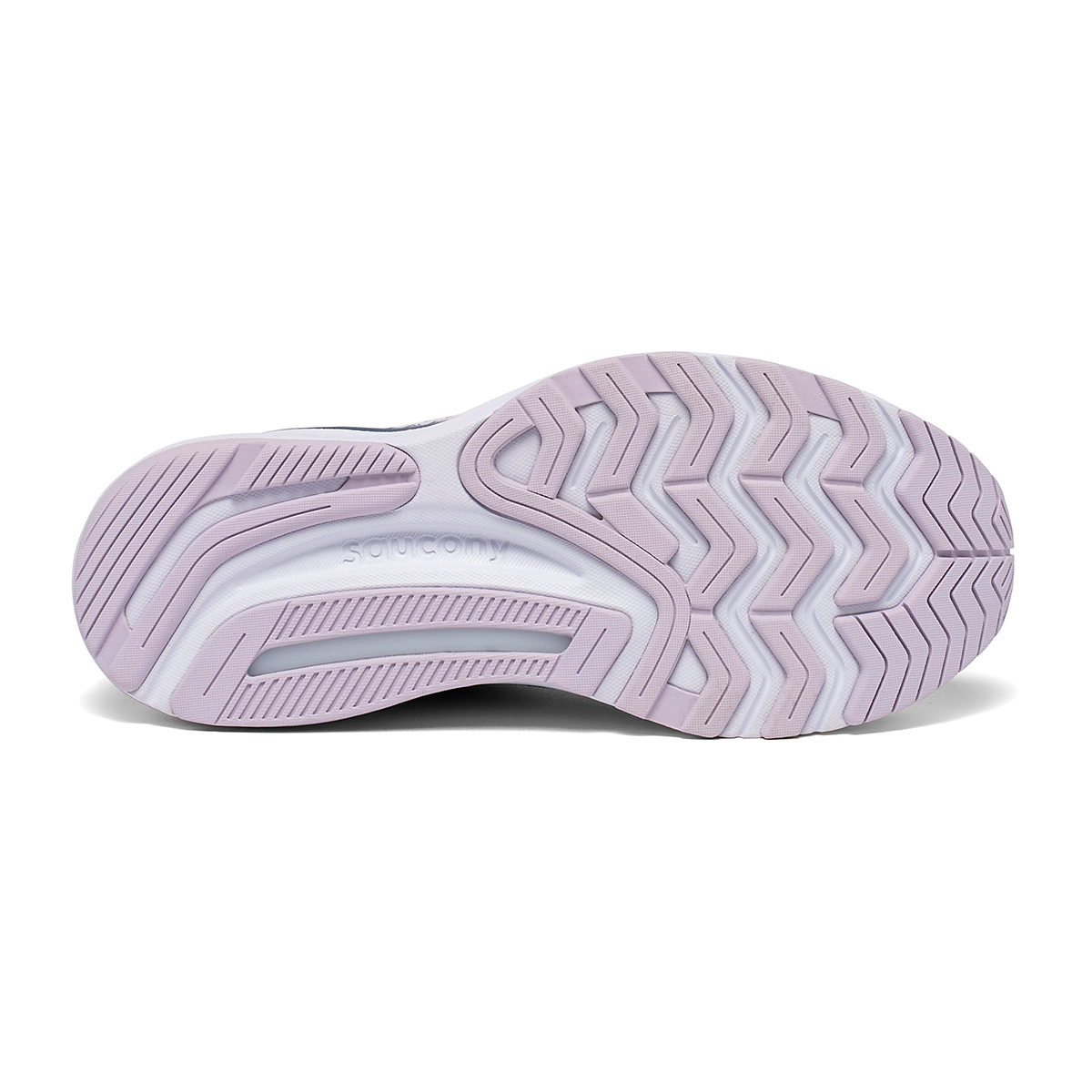 Women's Saucony Guide 14 Running Shoe - Color: Lilac/Storm - Size: 5 - Width: Regular, Lilac/Storm, large, image 5