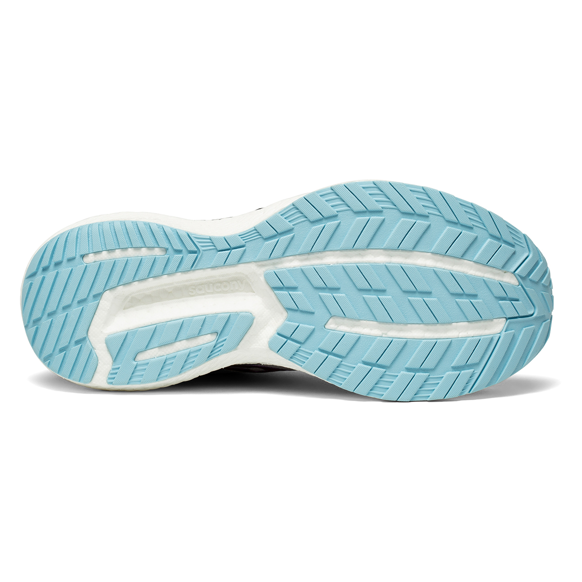Women's Saucony Triumph 19 Running Shoe - Color: Alloy/Concord - Size: 6 - Width: Regular, Alloy/Concord, large, image 5