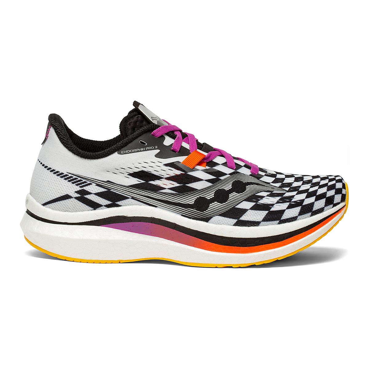 Women's Saucony Endorphin Pro 2 Running Shoe - Color: Reverie - Size: 5 - Width: Regular, Reverie, large, image 1