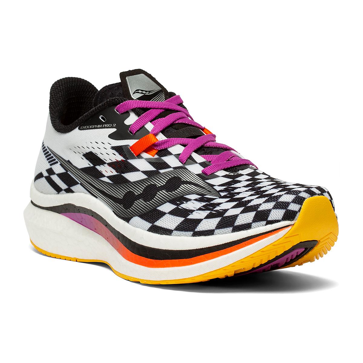 Women's Saucony Endorphin Pro 2 Running Shoe - Color: Reverie - Size: 5 - Width: Regular, Reverie, large, image 5