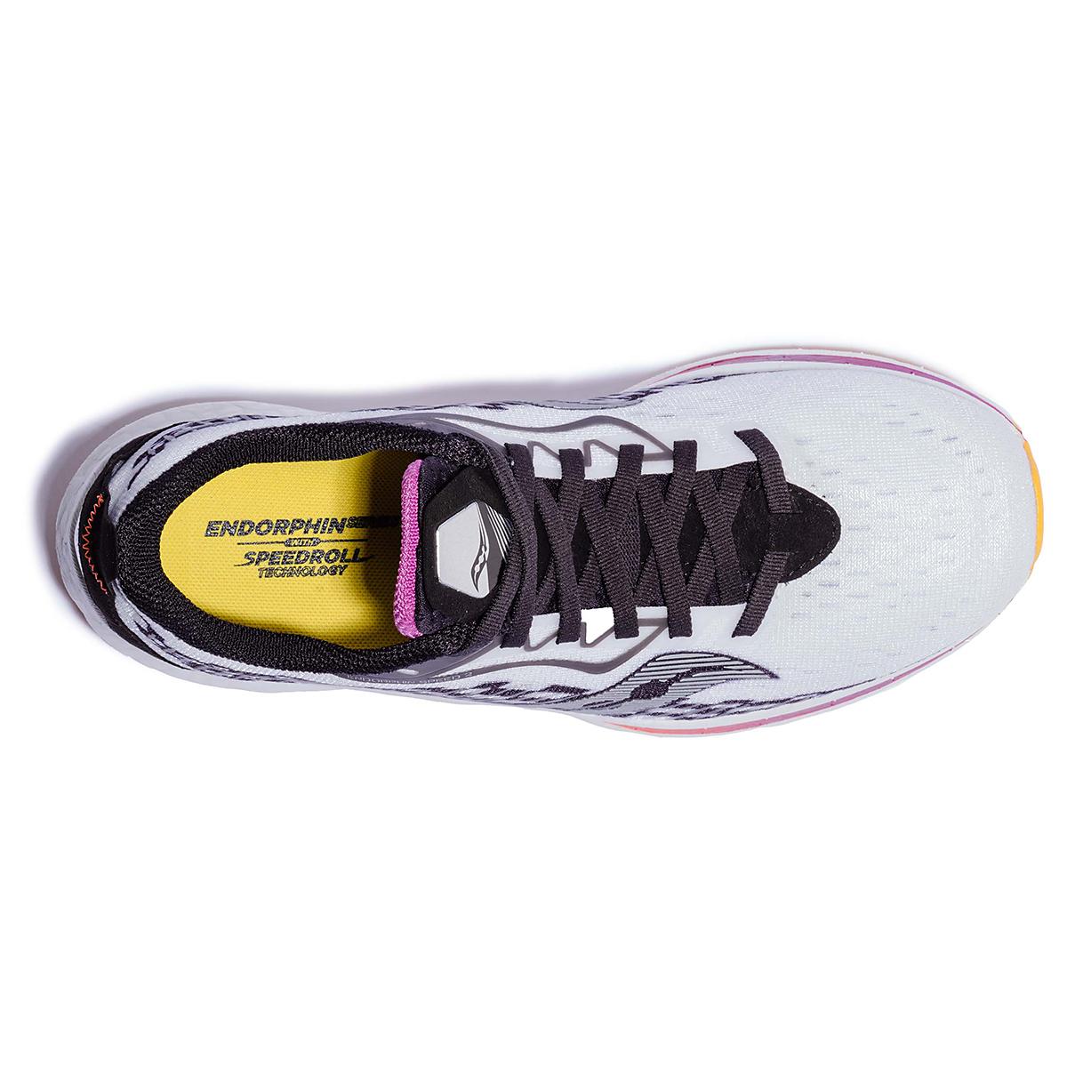 Women's Saucony Endorphin Speed 2 Running Shoe - Color: Reverie - Size: 5 - Width: Regular, Reverie, large, image 3