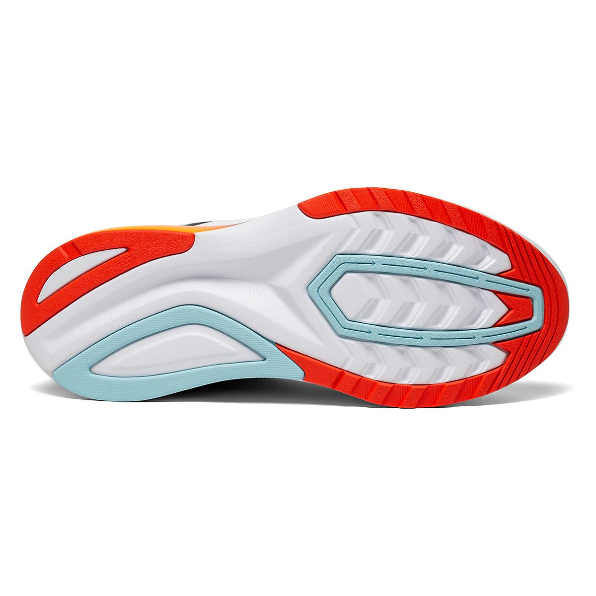 Women's Saucony Endorphin Shift 2 Running Shoe - Color: Powder/Scarlet - Size: 5 - Width: Regular, Powder/Scarlet, large, image 4