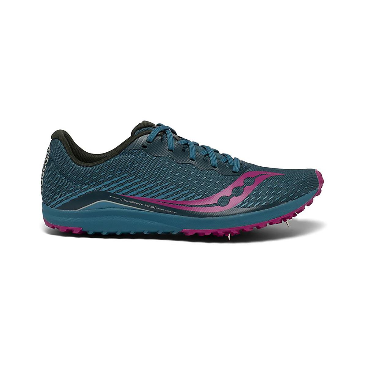 Women's Saucony Kilkenny XC8 Spike Shoes - Color: Marine - Size: 5 - Width: Regular, Marine, large, image 1