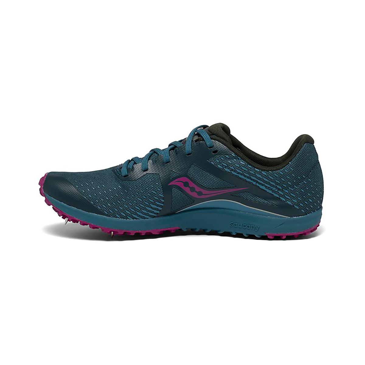 Women's Saucony Kilkenny XC8 Spike Shoes - Color: Marine - Size: 5 - Width: Regular, Marine, large, image 2