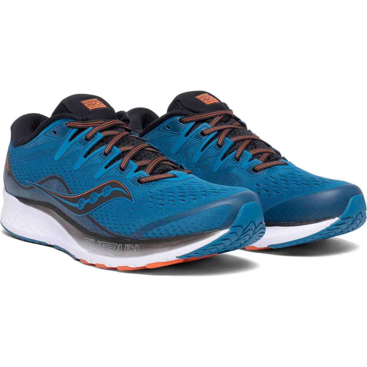 Men's Saucony Ride Iso 2 Running Shoe - Color: Blue/Black (Regular Width) - Size: 11, Blue/Black, large, image 4