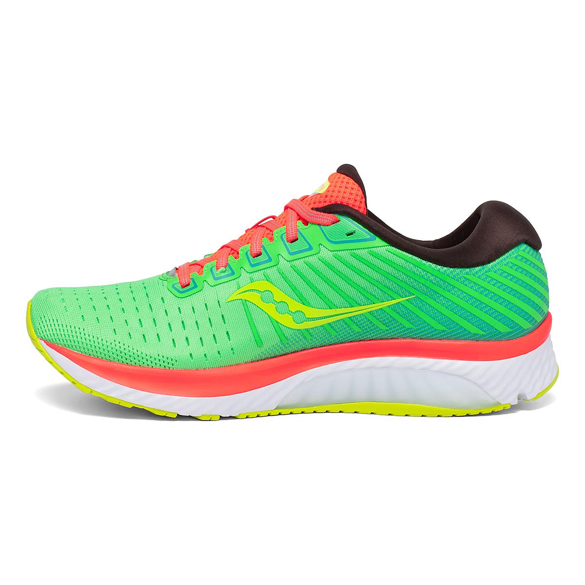 Men's Saucony Guide 13 Running Shoe - Color: Green Mutant - Size: 7 - Width: Regular, Green Mutant, large, image 2
