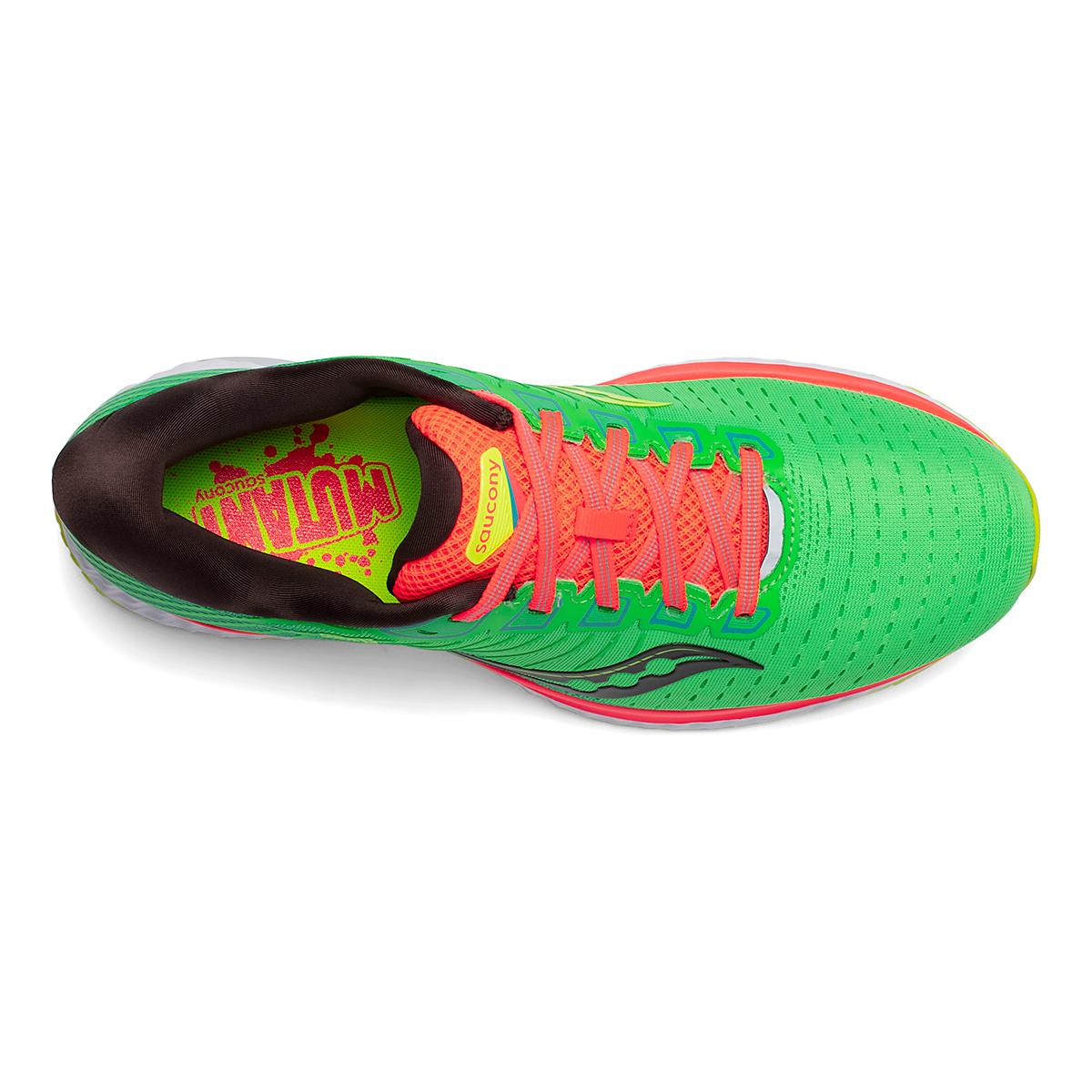 Men's Saucony Guide 13 Running Shoe - Color: Green Mutant - Size: 7 - Width: Regular, Green Mutant, large, image 3