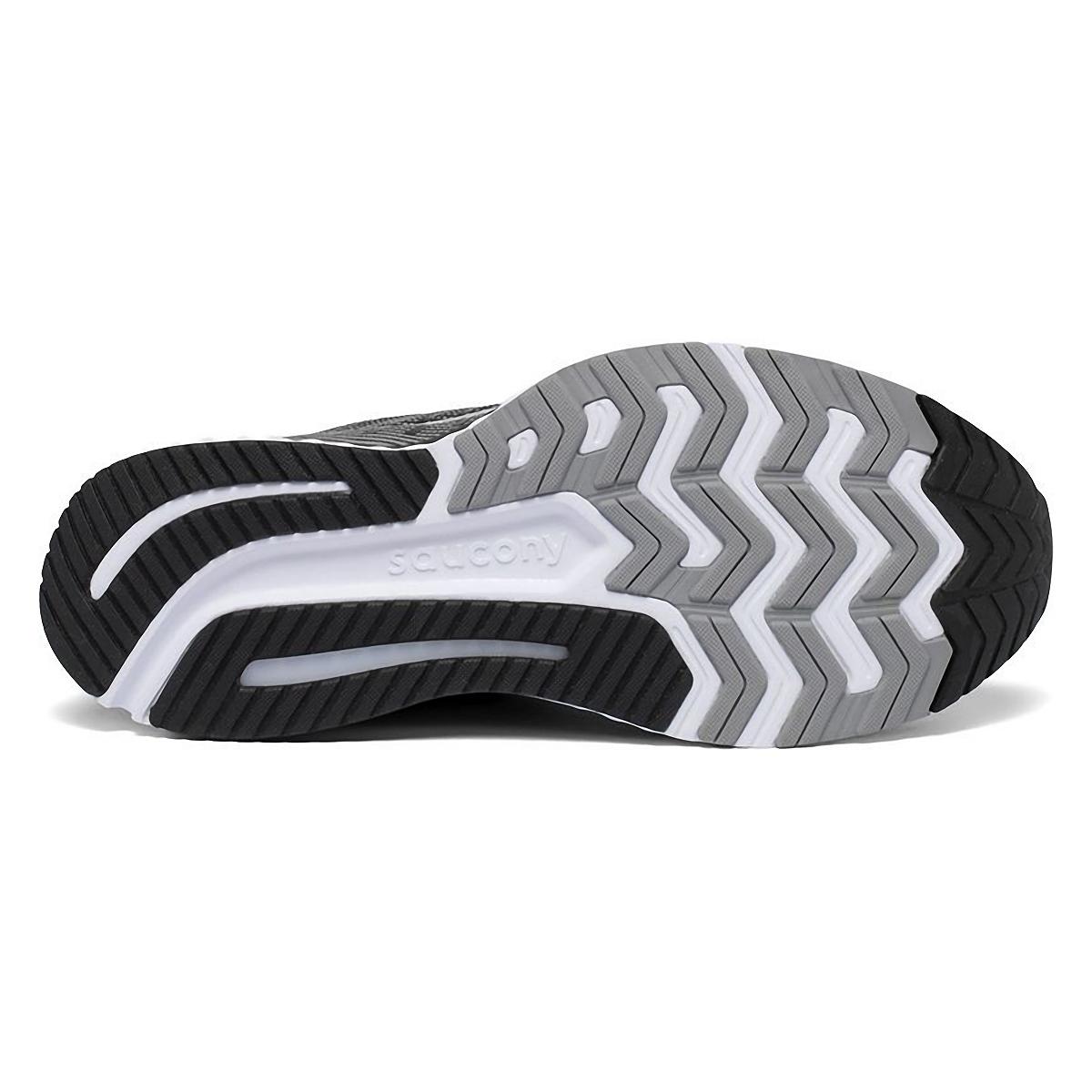 Men's Saucony Guide 13 Walking Shoe - Color: Black/White - Size: 8 - Width: Regular, Black/White, large, image 4