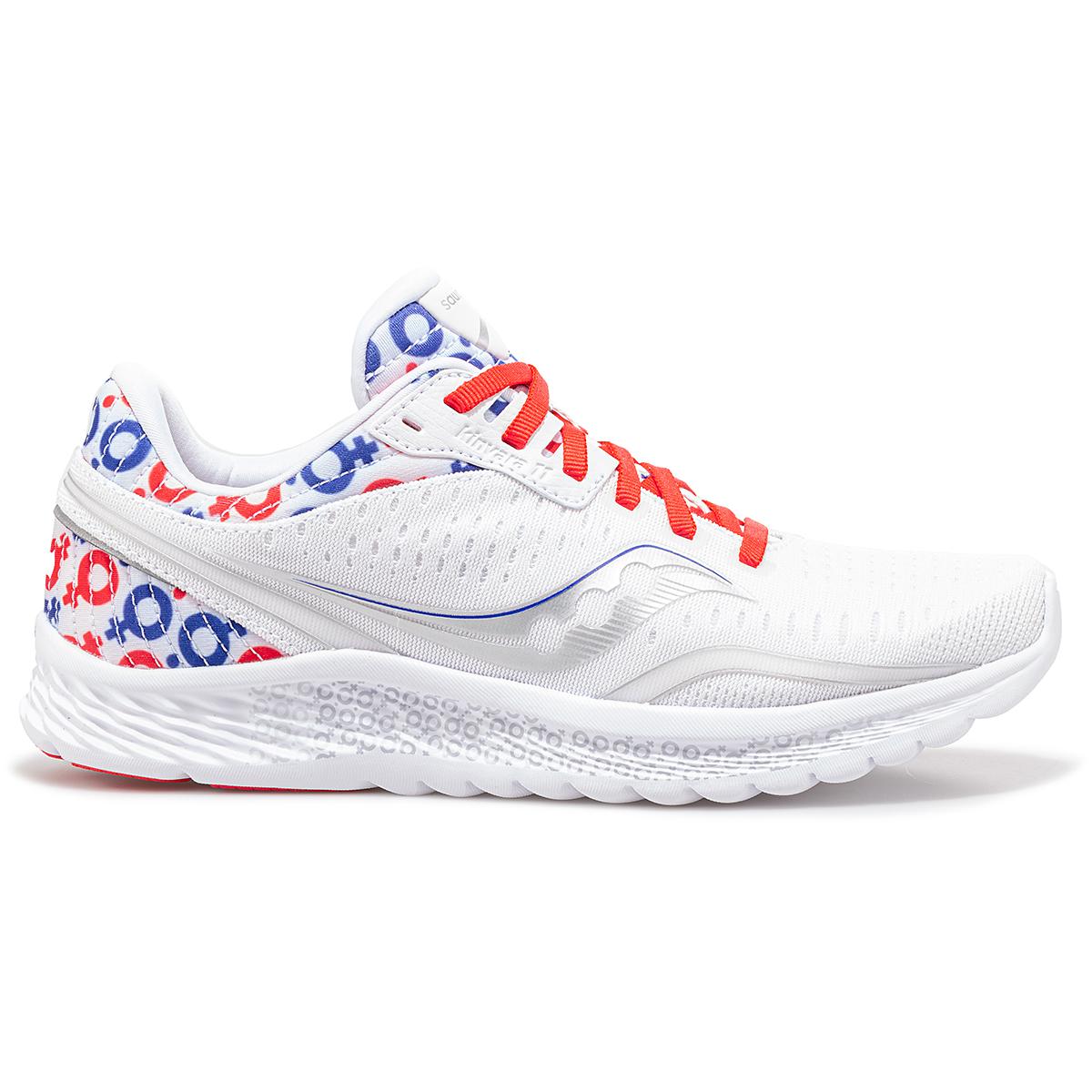 Men's Saucony x Prinkshop Hero Kinvara 11 Running Shoe - Color: Red/White/Blue - Size: 7 - Width: Regular, Red/White/Blue, large, image 1