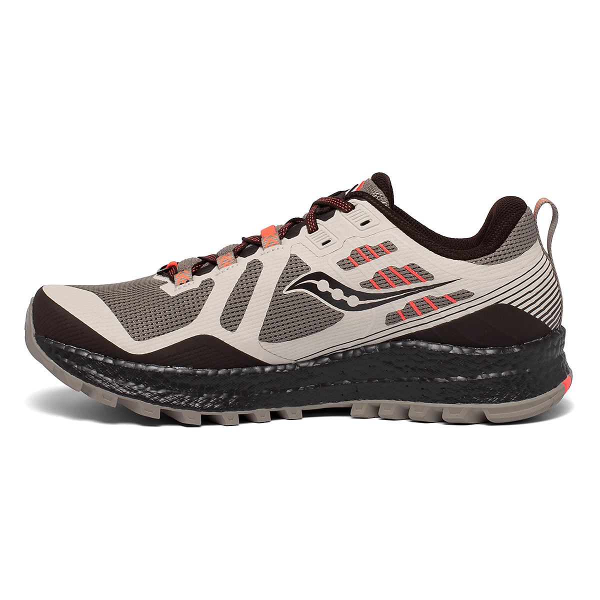 Men's Saucony Xodus 10 Trail Running Shoe - Color: Moonrock/Coffee - Size: 7 - Width: Regular, Moonrock/Coffee, large, image 2